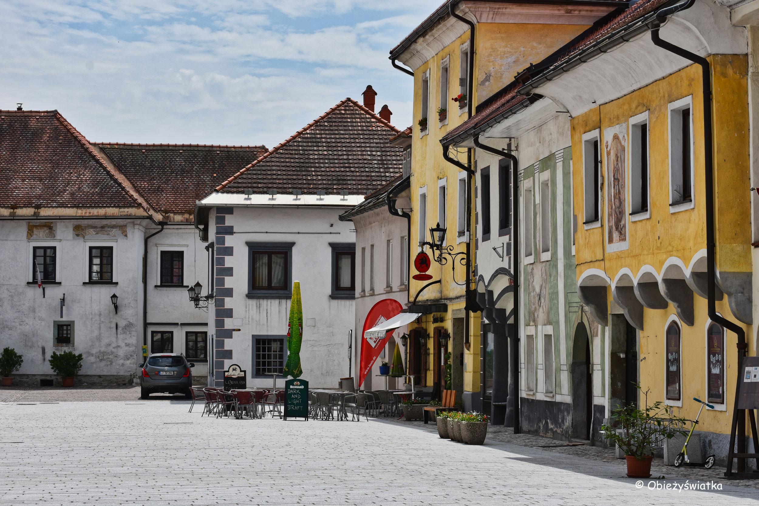Słoweńska Radovljica, Stare Miasto