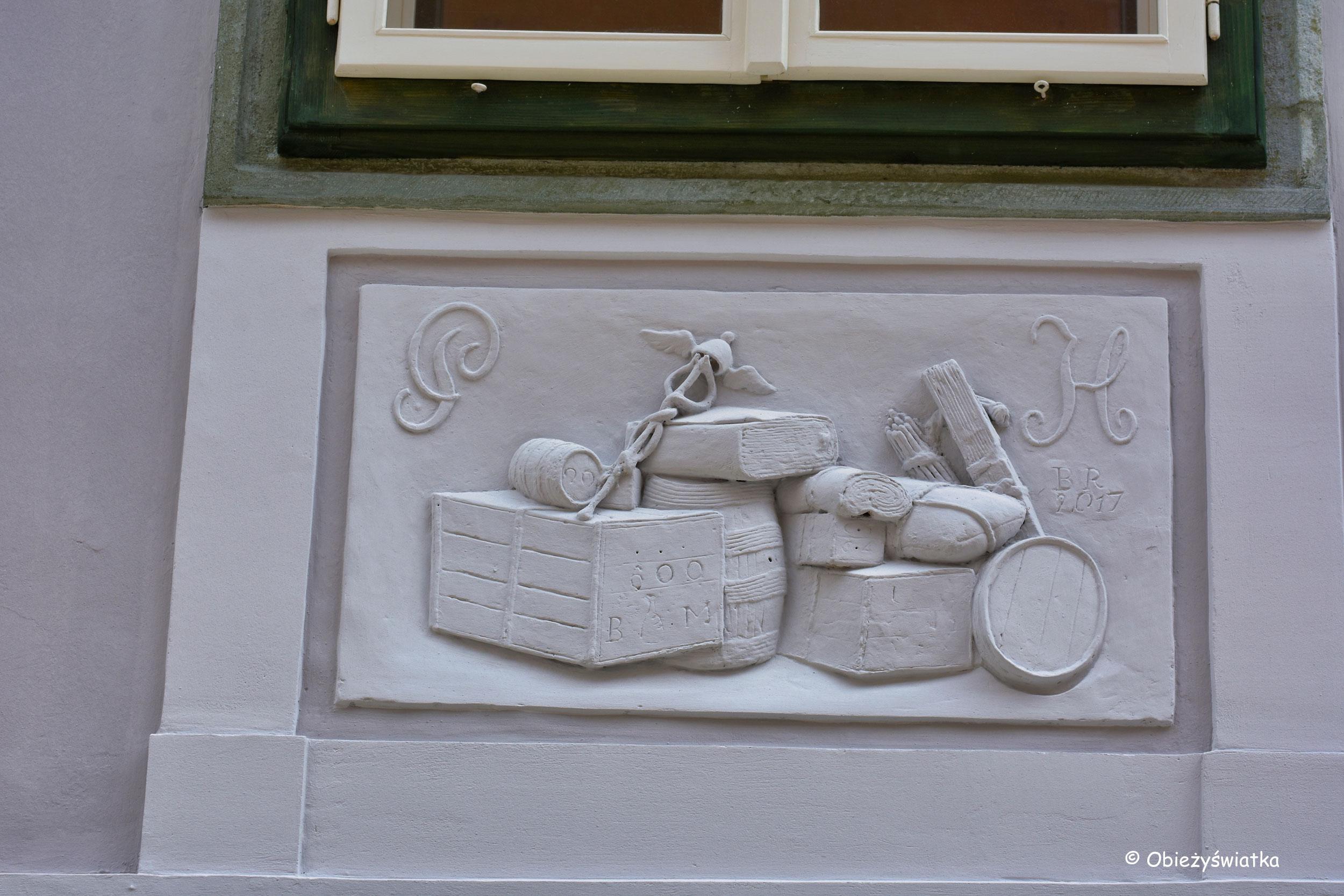Kamienica w Radovljicy - migawki ze Starego Miasta