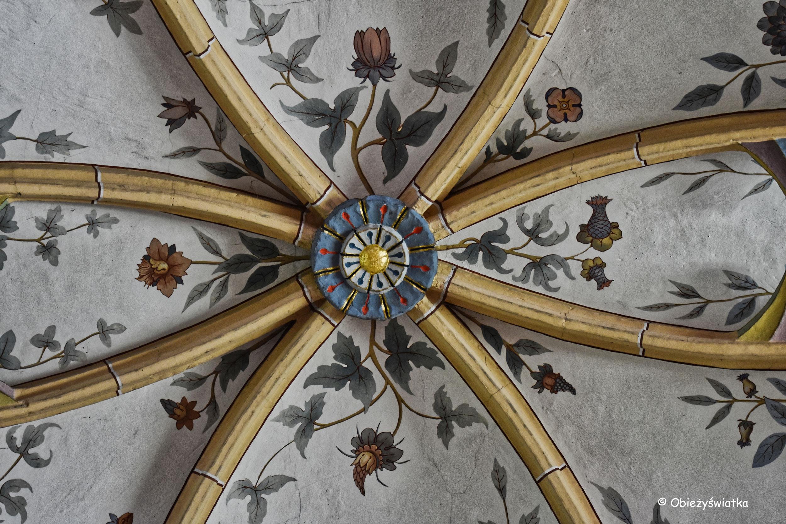 Radovljica - sklepienie w kościele św. Piotra