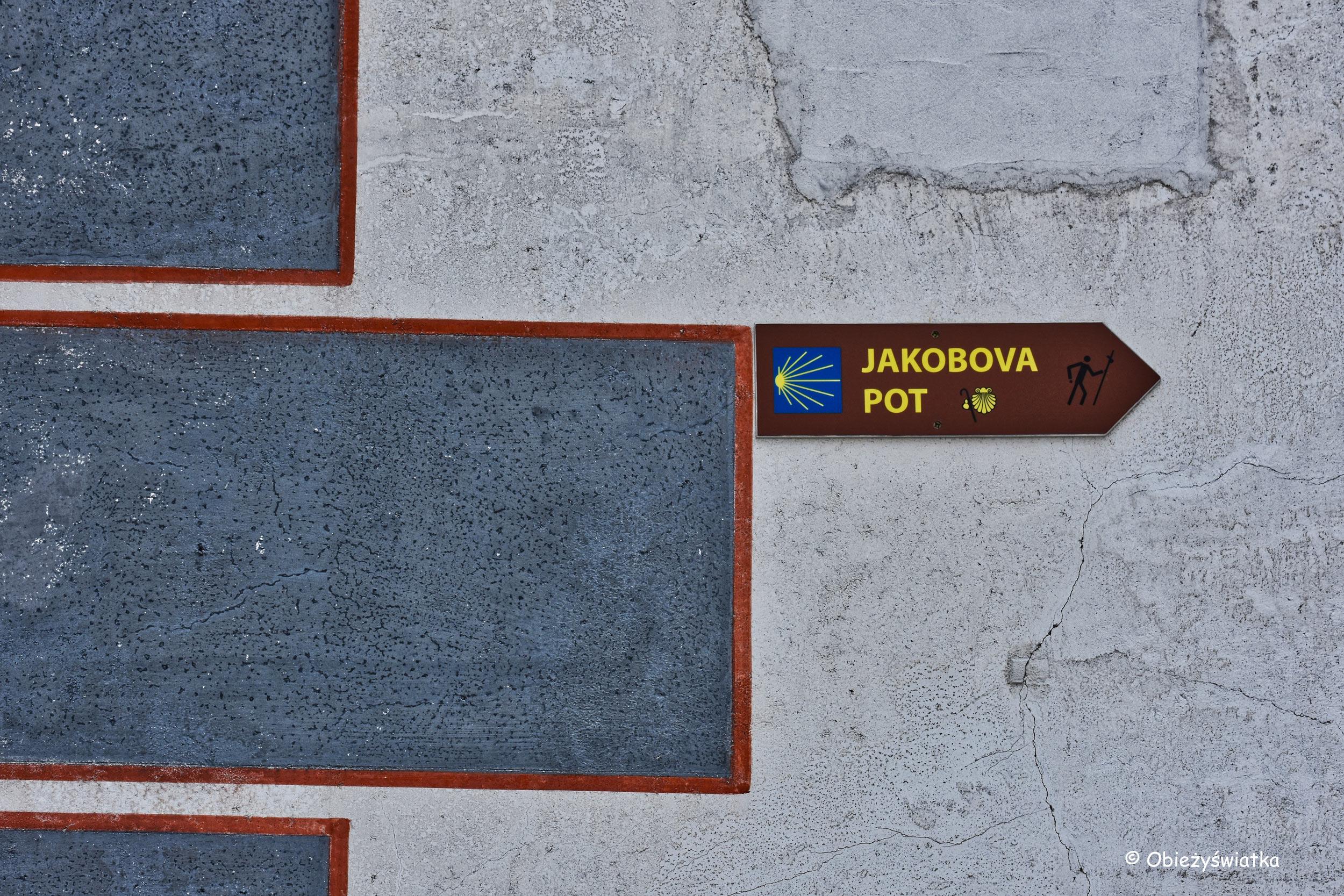 Szlak św. Jakuba, Radovljica, Słowenia