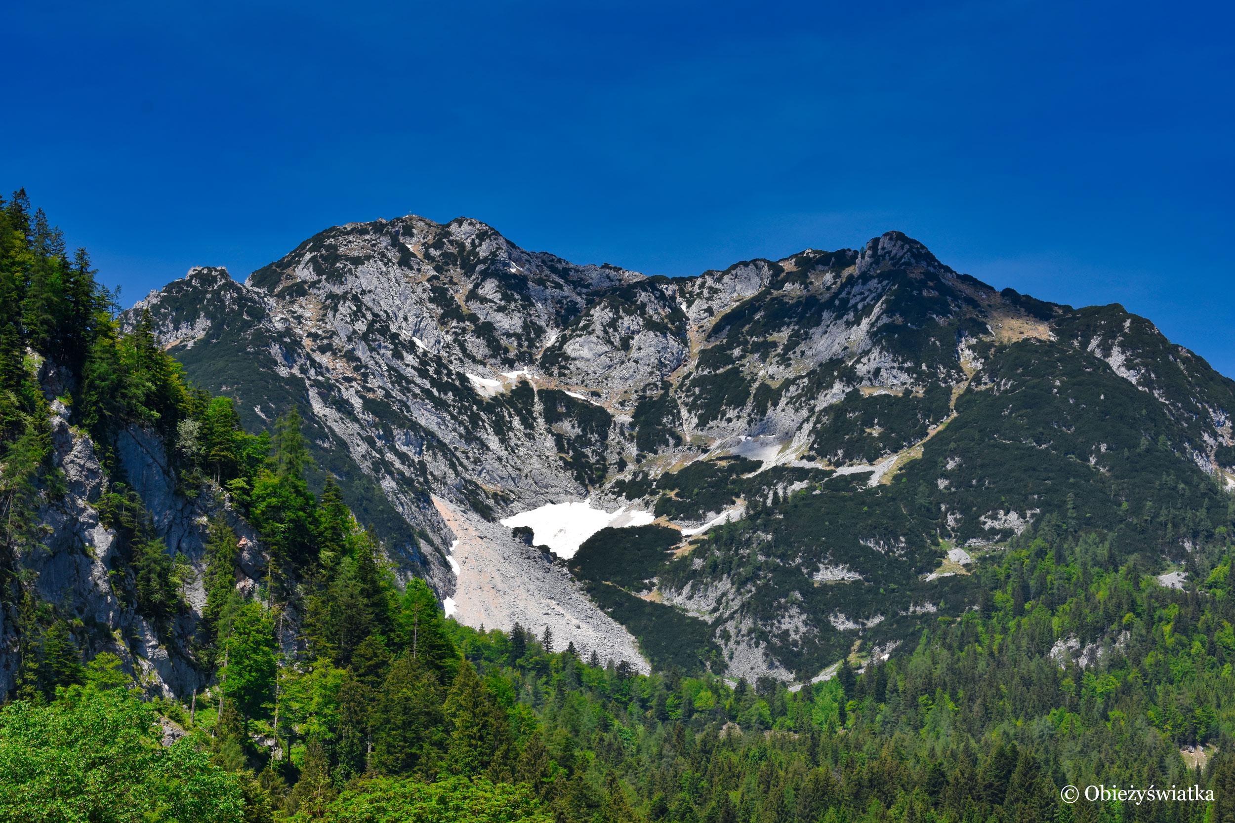 Alpy, Salzkammergut, Austria