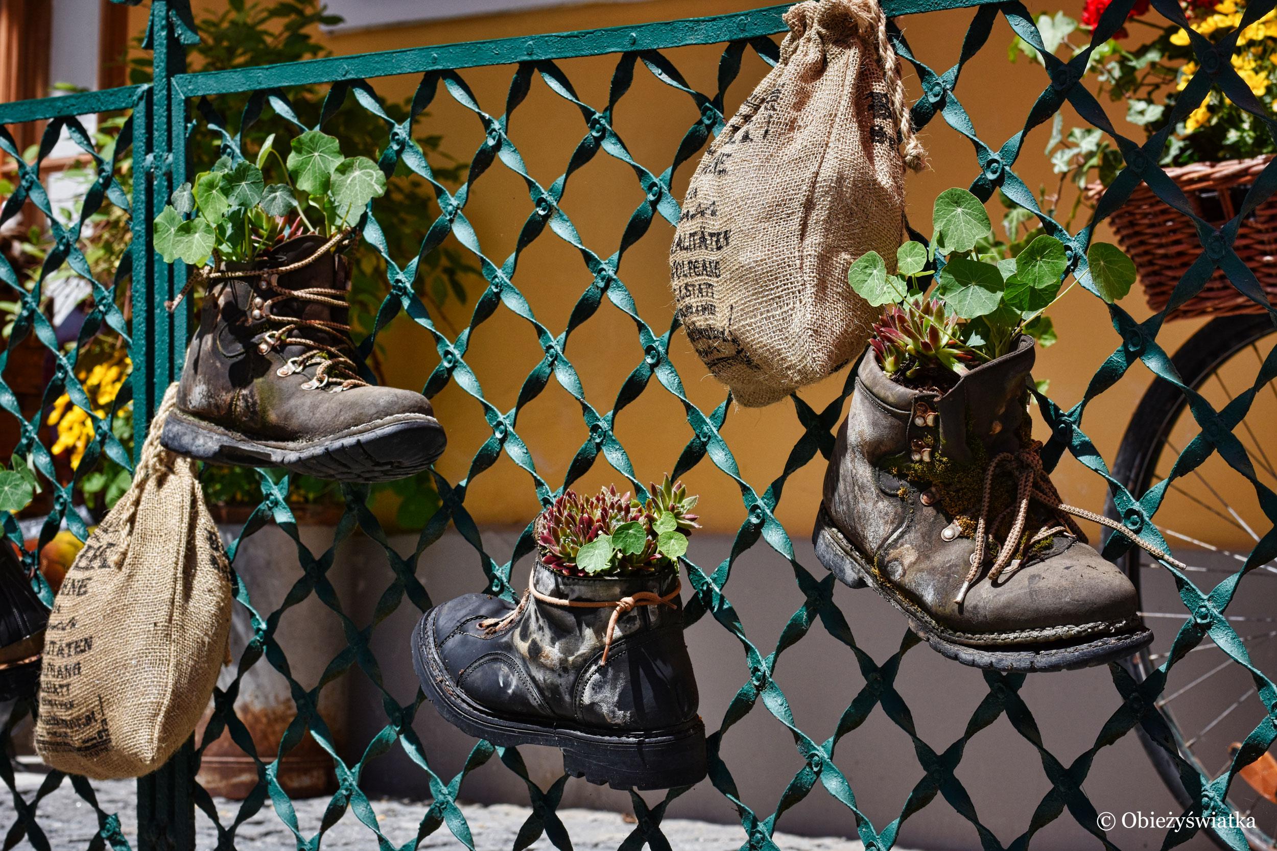 Buty w Hallstatt można wykorzystać również do czegoś innego ;)