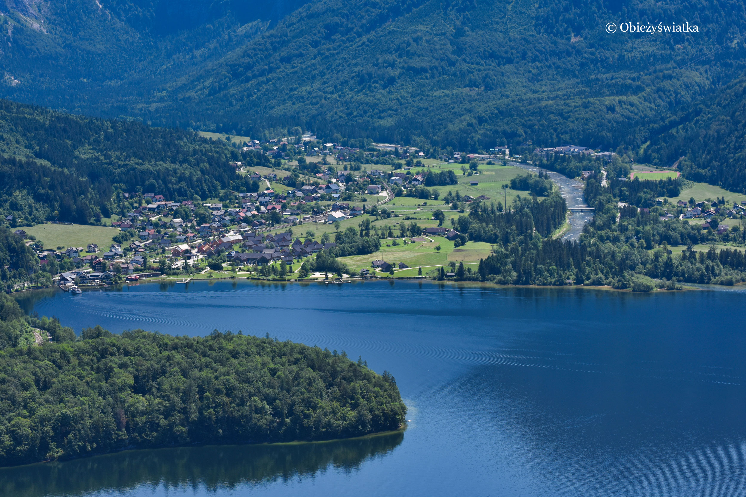 Jezioro Hallstatt
