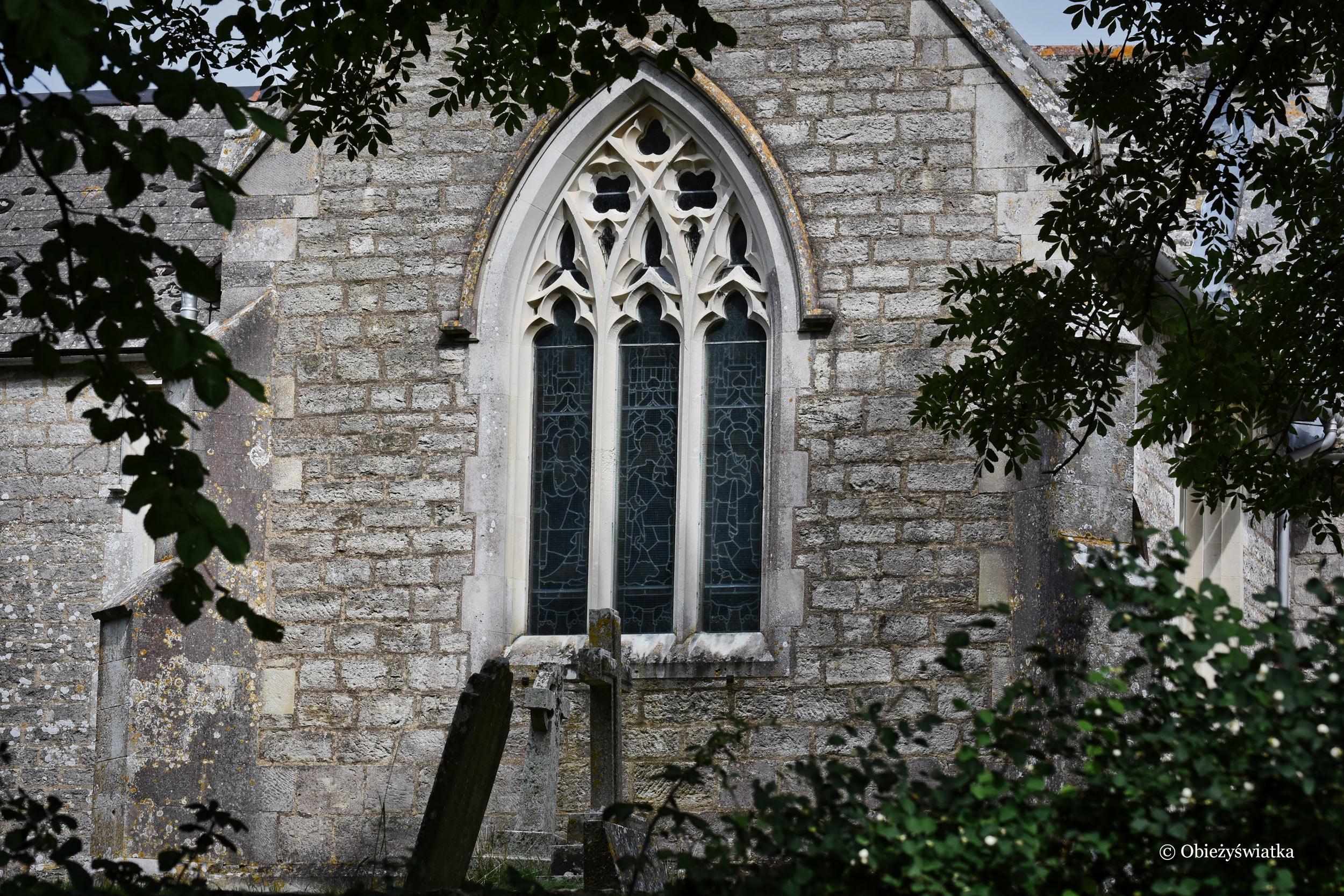 Tyneham - kościółek - St. Mary's church
