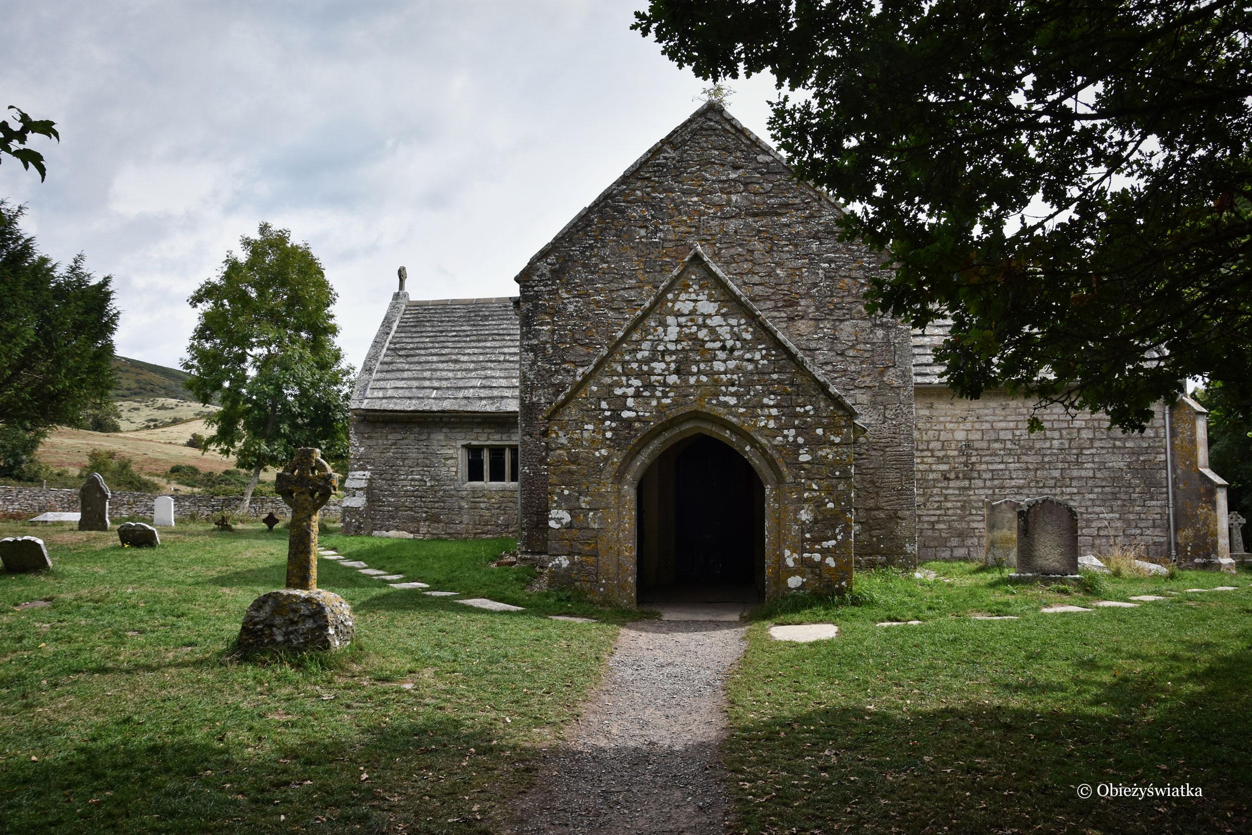 Tyneham - Zabytkowy kościółek - St. Mary's church