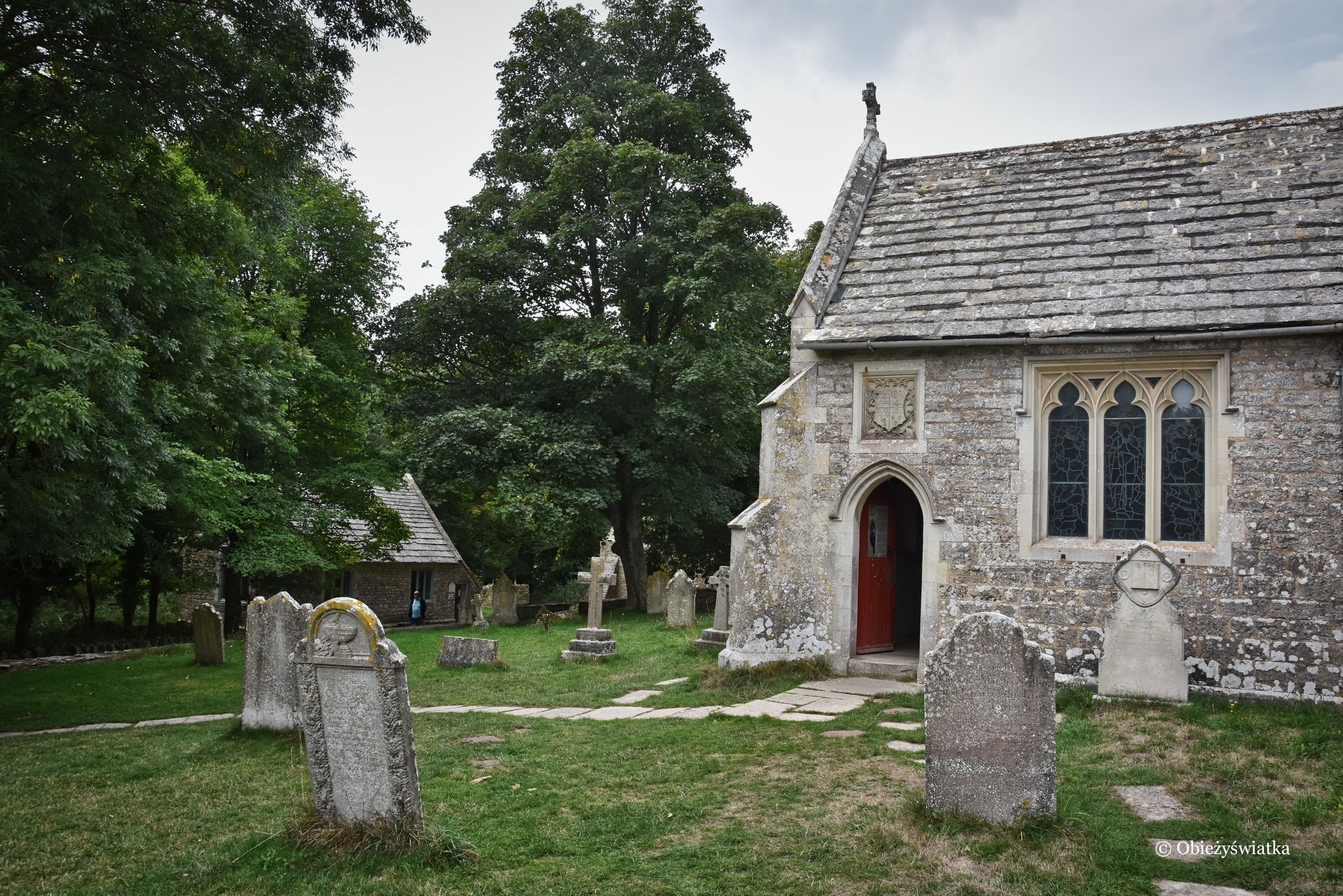St. Mary's church, Tyneham, UK