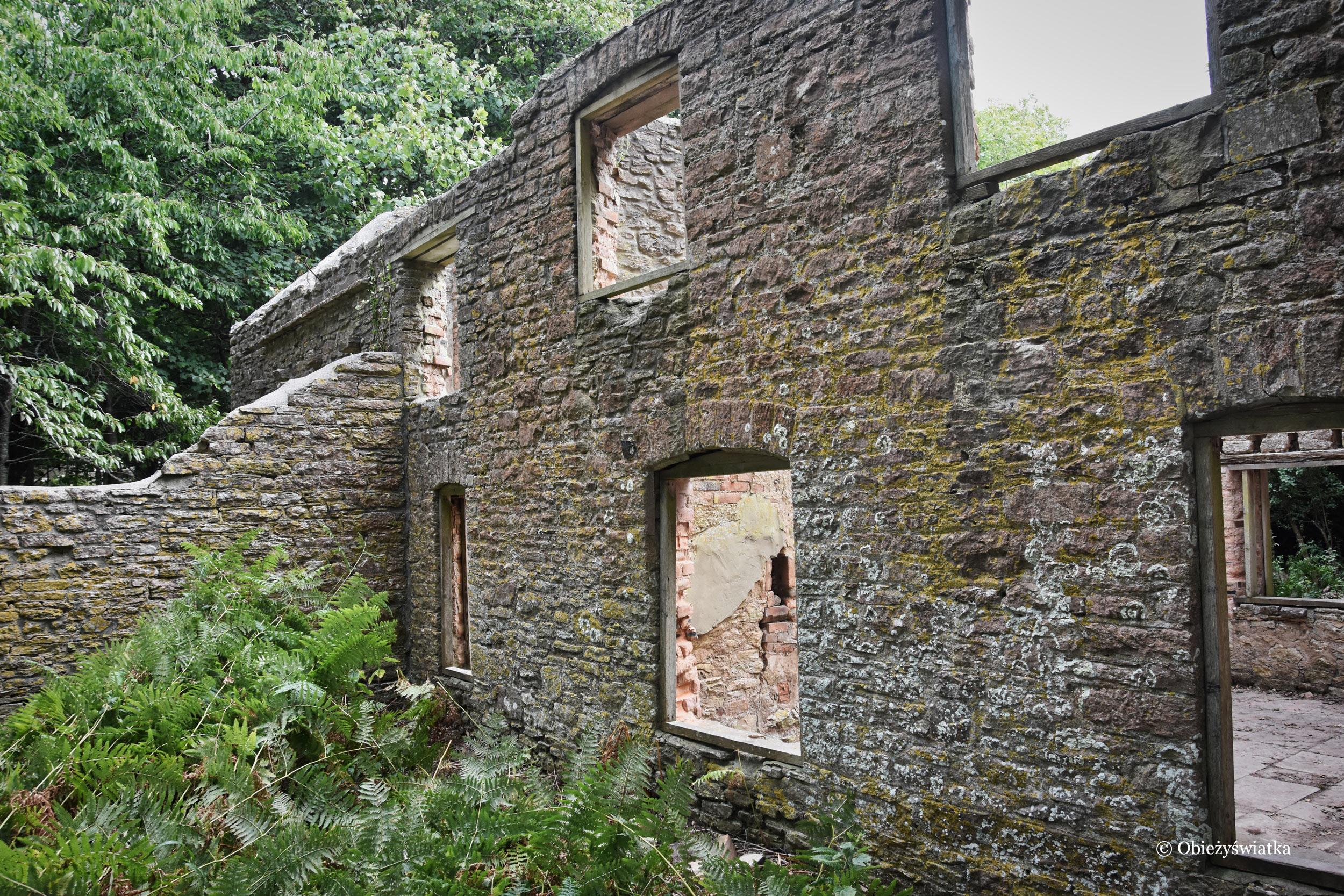 Opuszczona wioska - Tyneham