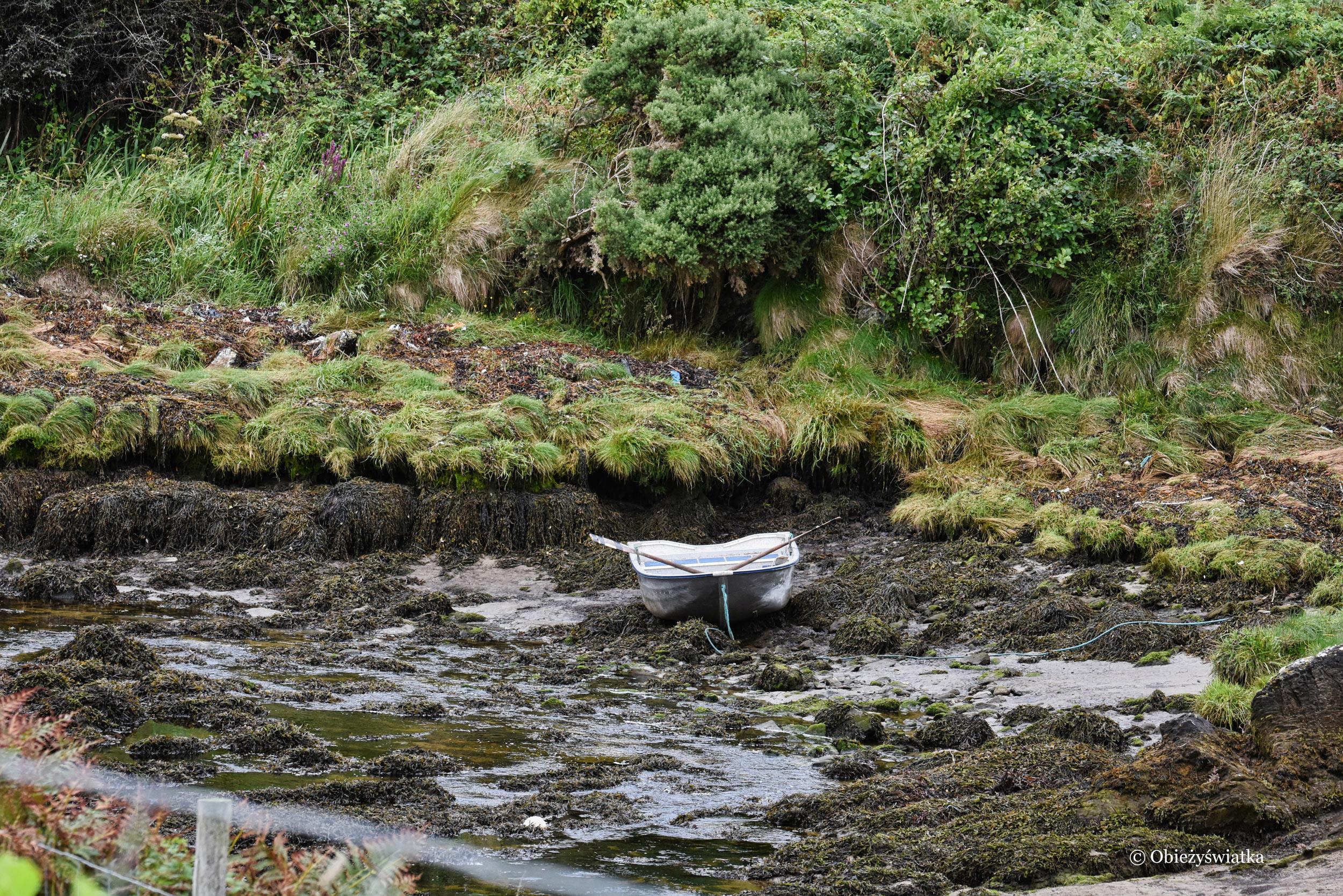 W czasie odpływu, Killybegs, Irlandia