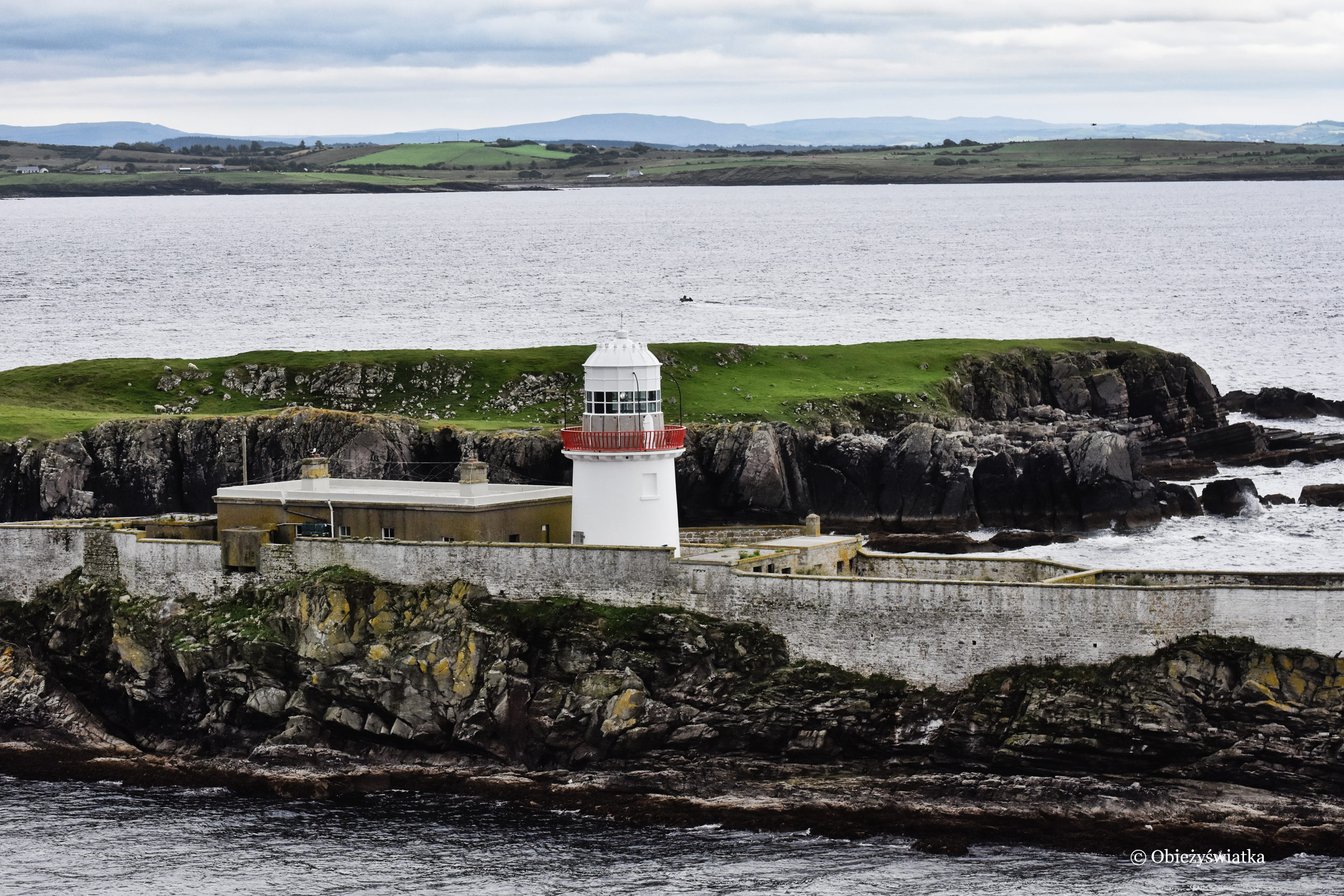 Latarnia morska w Killybegs, Irlandia