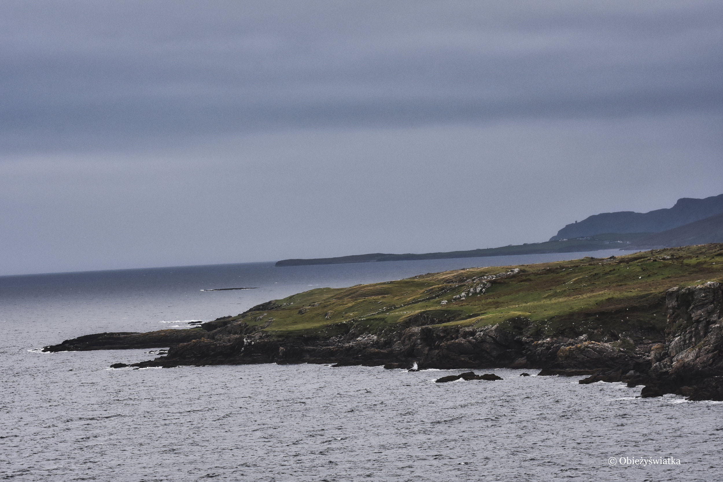 U wybrzeża Killybegs, Irlandia