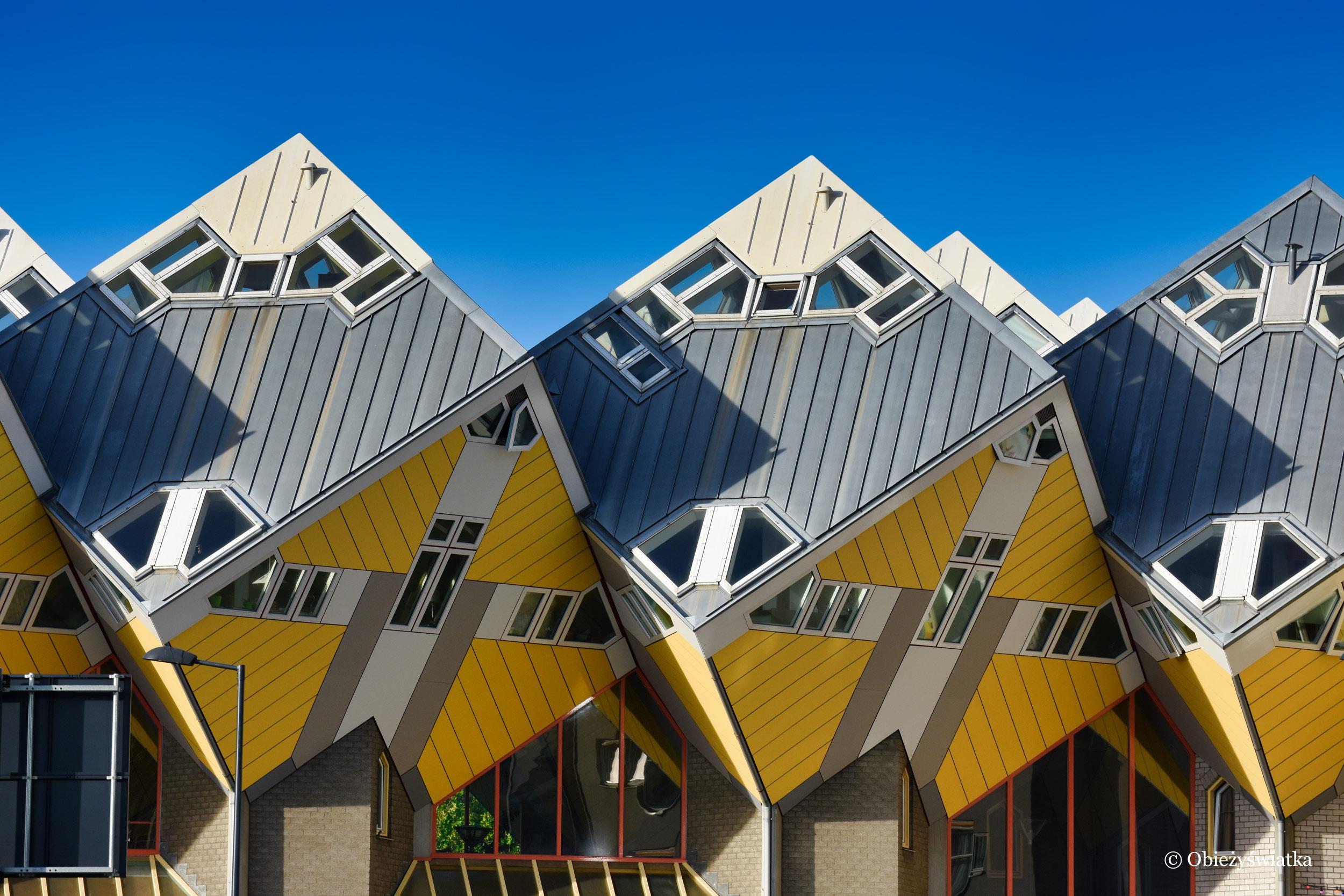 Mieszkanie w sześcianie - Cube Houses, Rotterdam