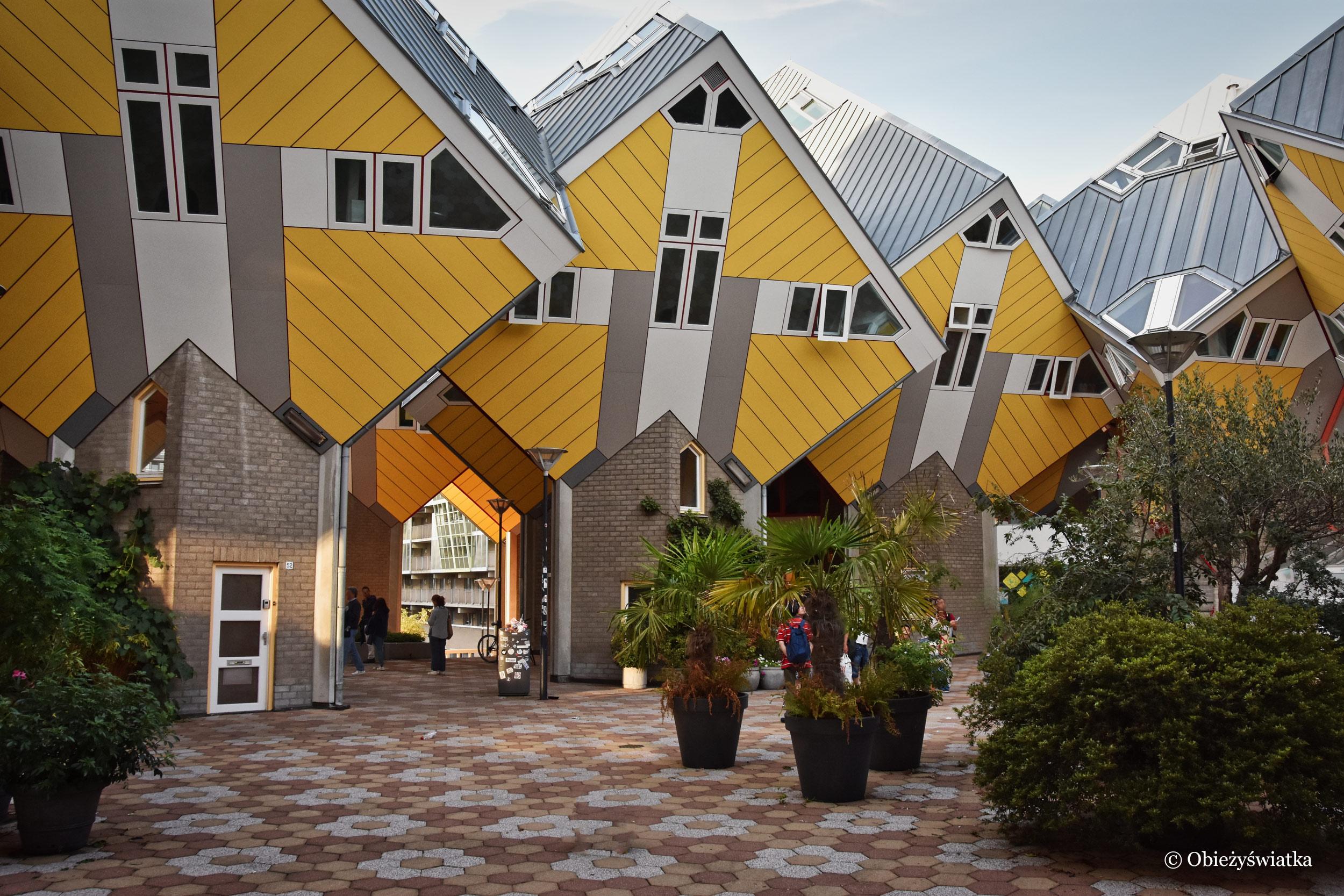 Kompleks mieszkalny w Rotterdamie - Cube Houses