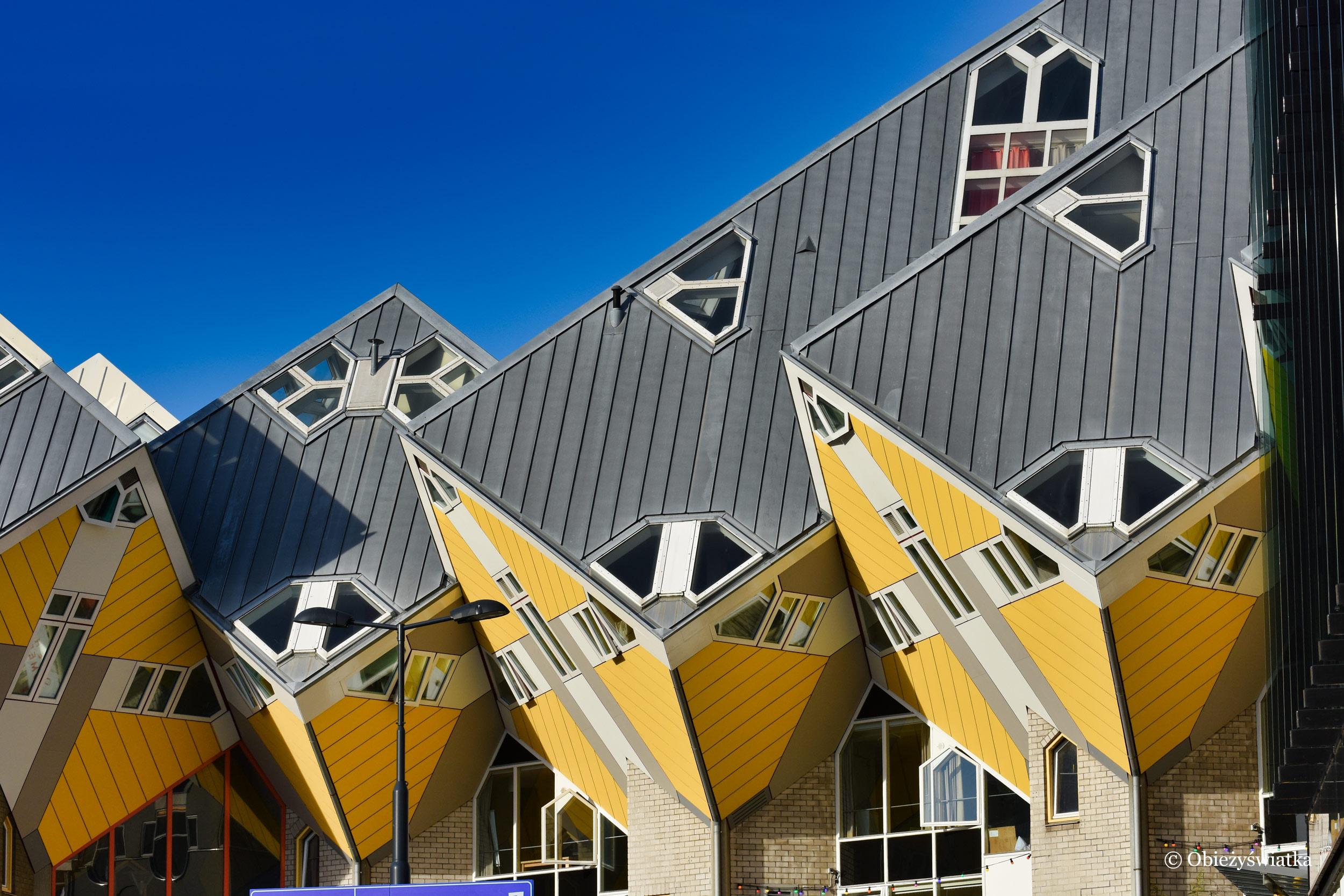 Holenderska architektura mieszkaniowa- Kubuswoningen, Rotterdam