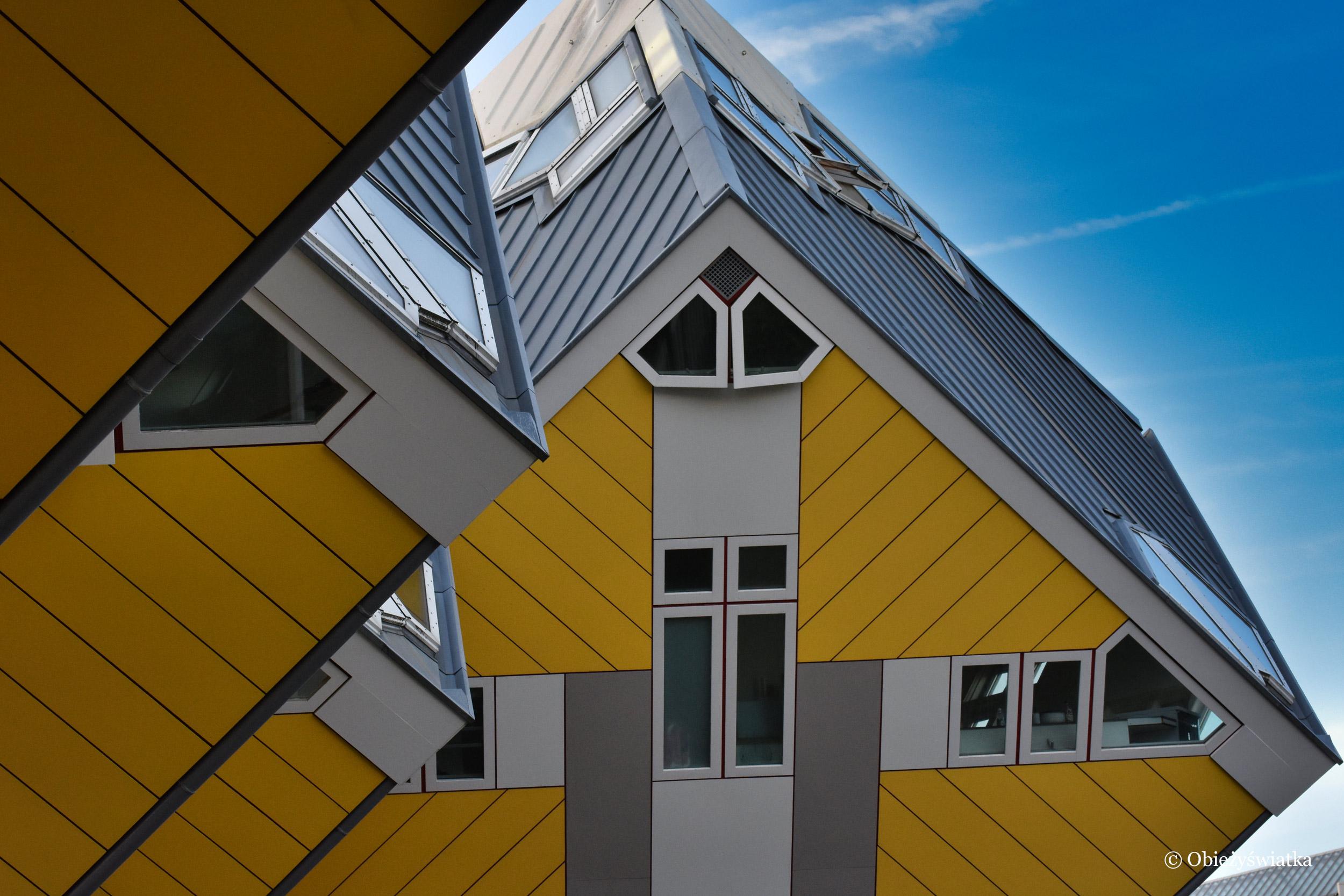 Cube Houses, Rotterdam, Holandia