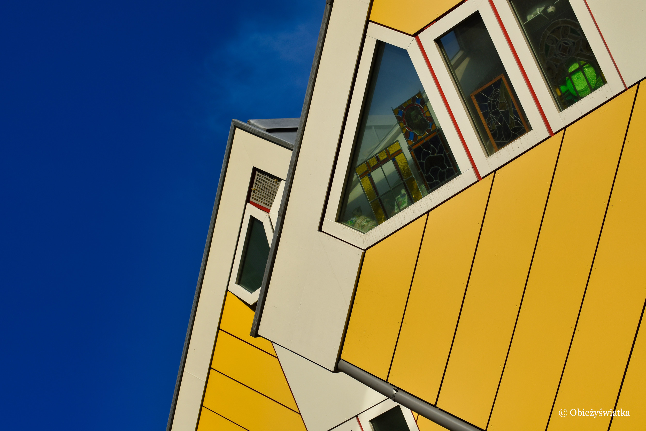 Cube Houses w Rotterdamie,