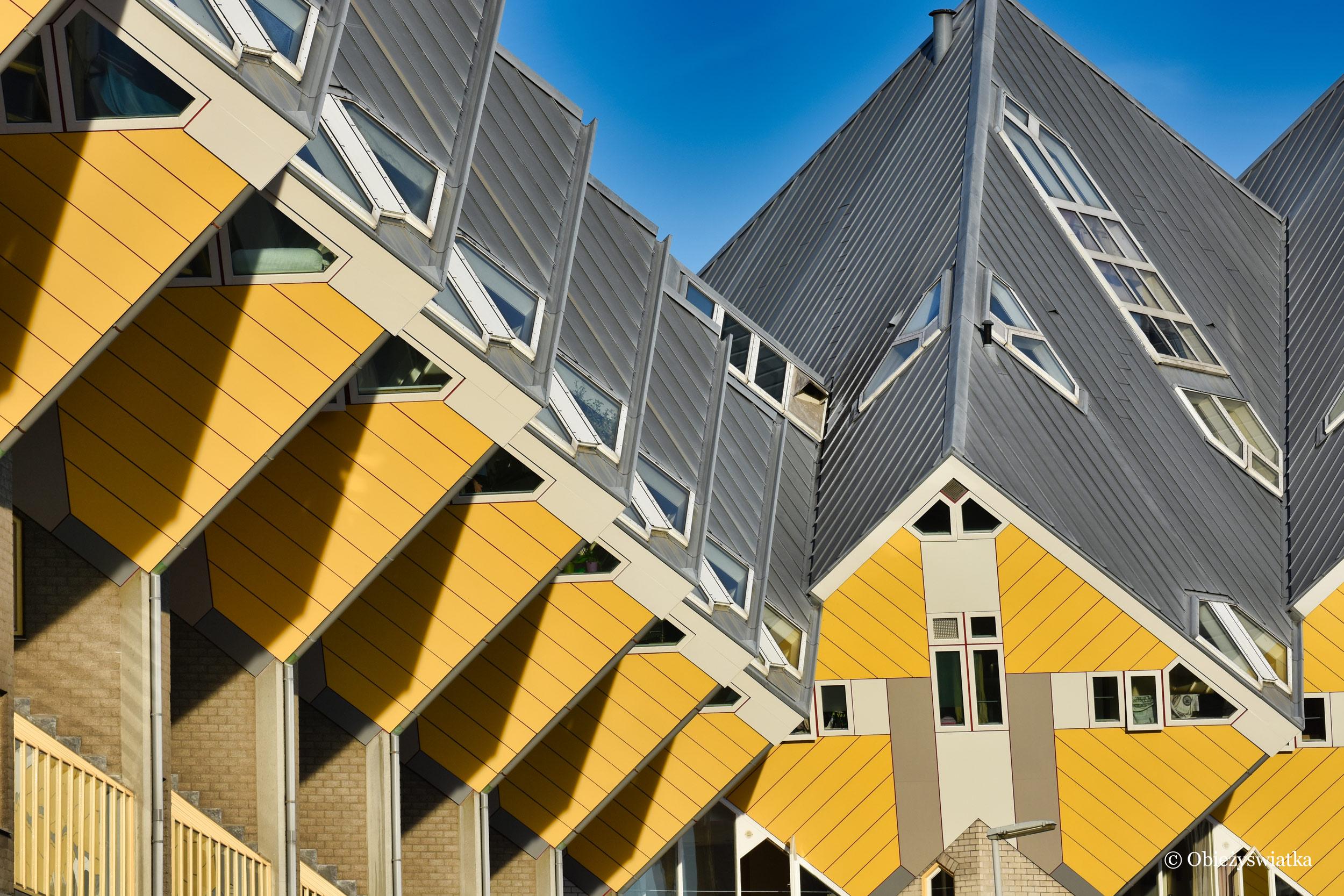 Architektura Rotterdamu - Cube Houses