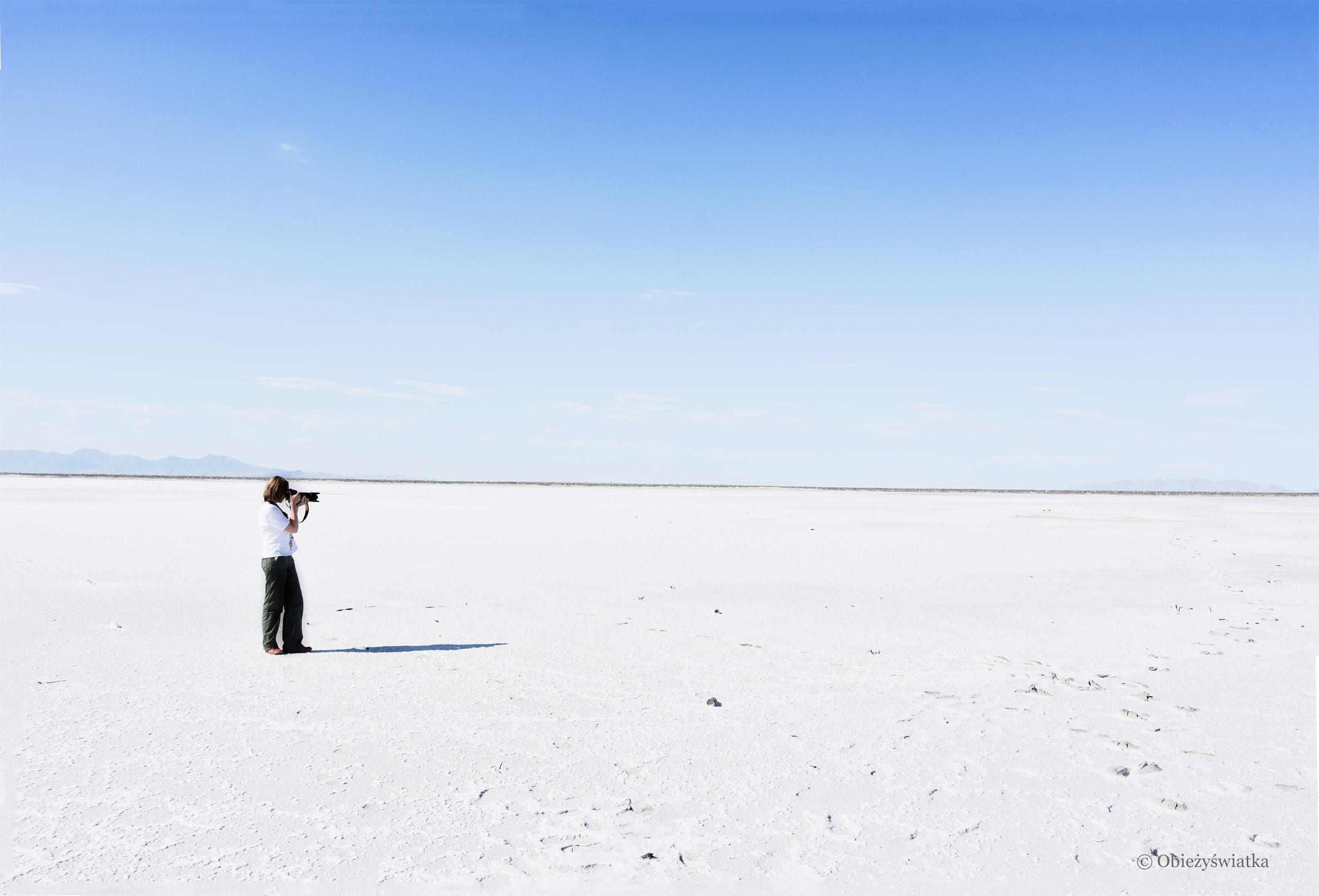 Biało aż po horyzontu kres..., Great Salt Lake Desert
