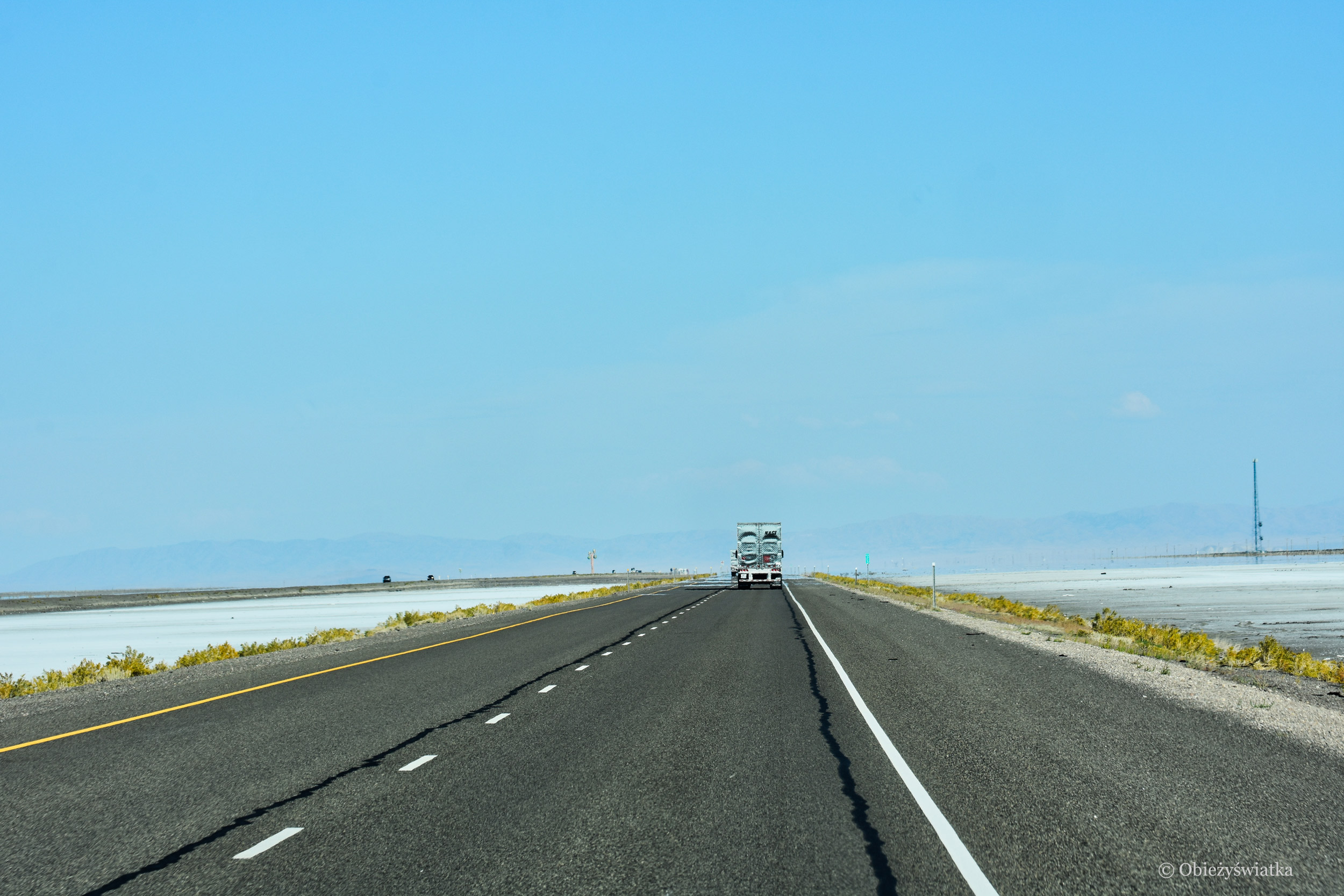 Interstate 80 - jadąc przez sól, Utah