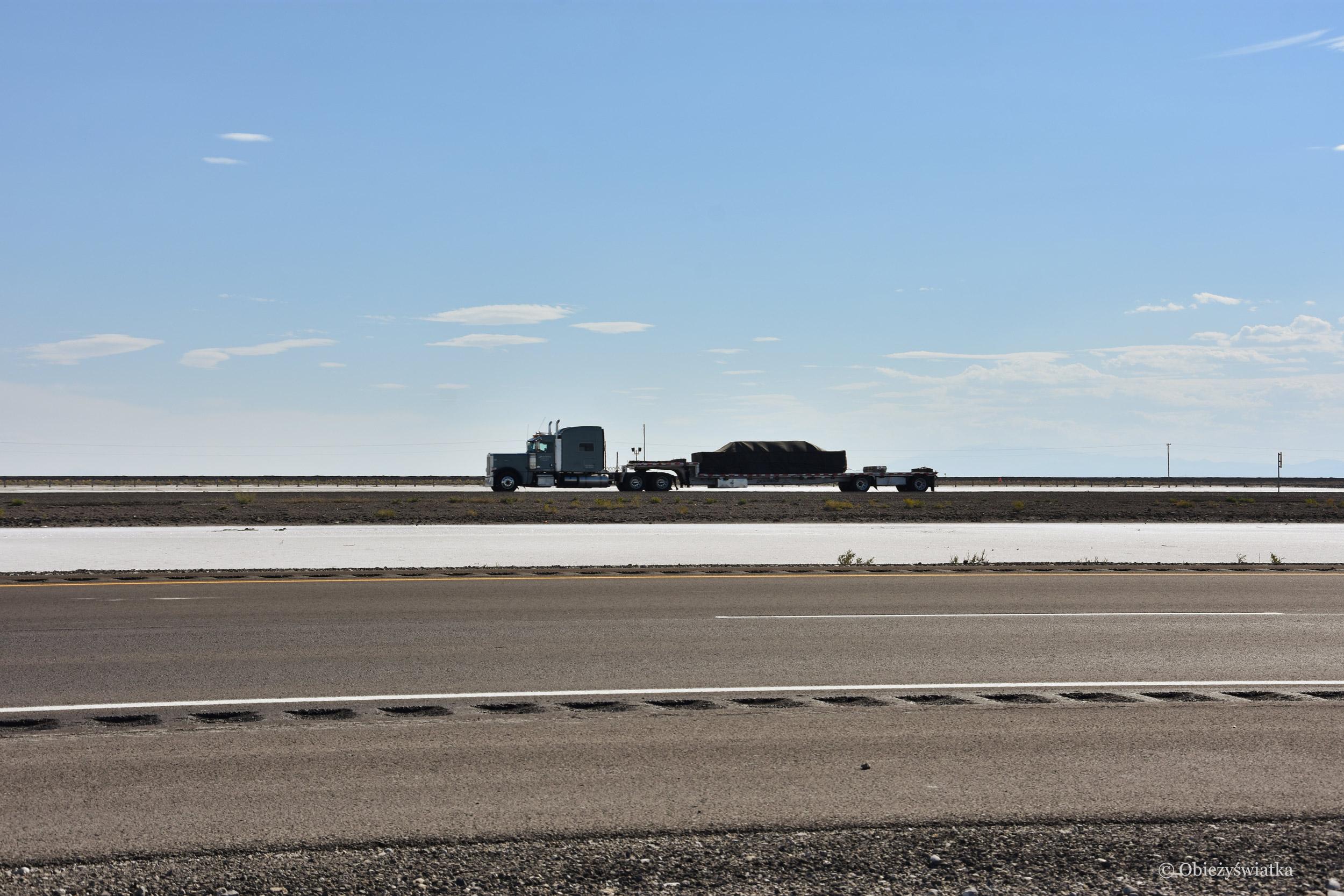 Droga przez słoną pustynię, Utah