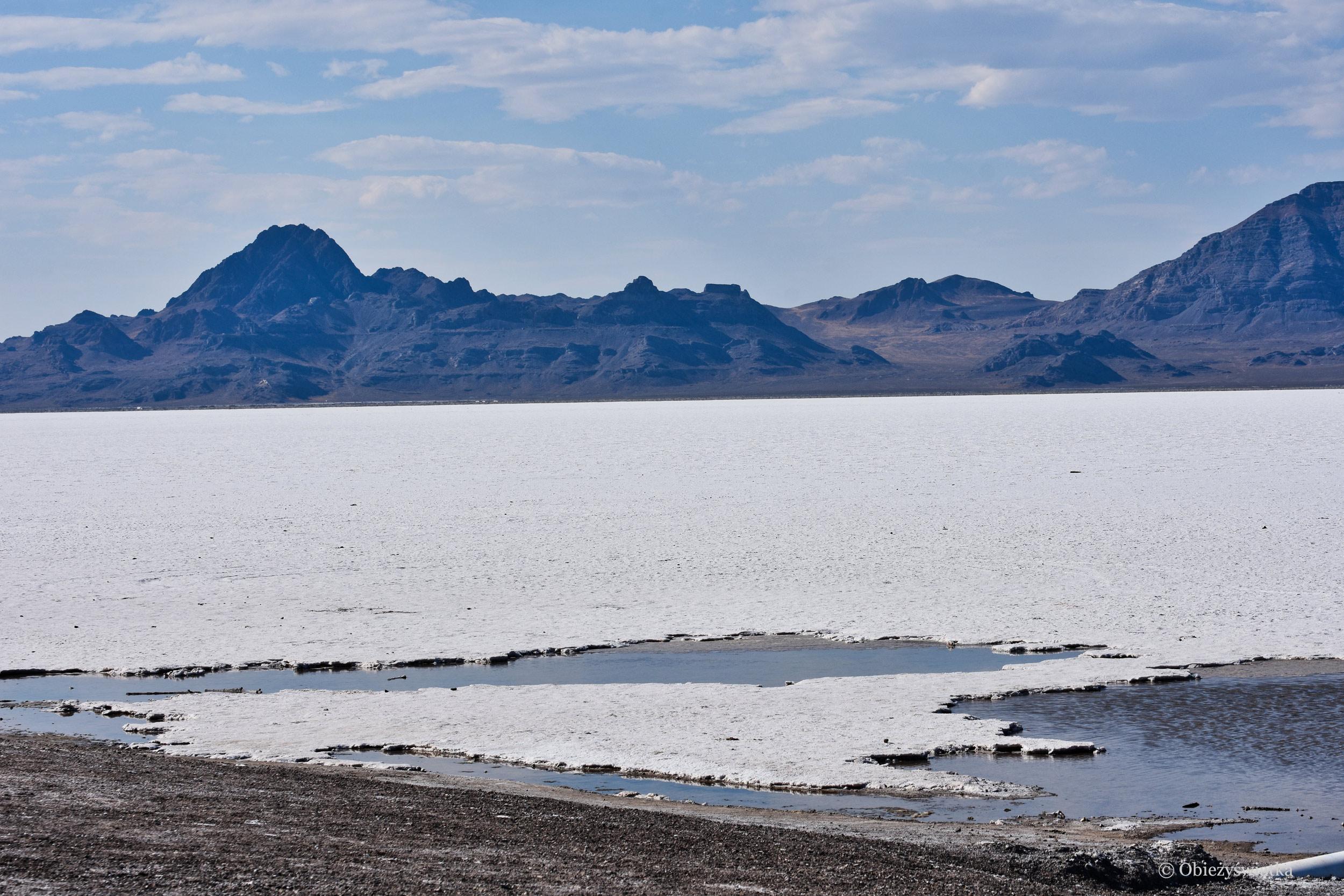 Pustynny krajobraz, Great Salt Lake Desert