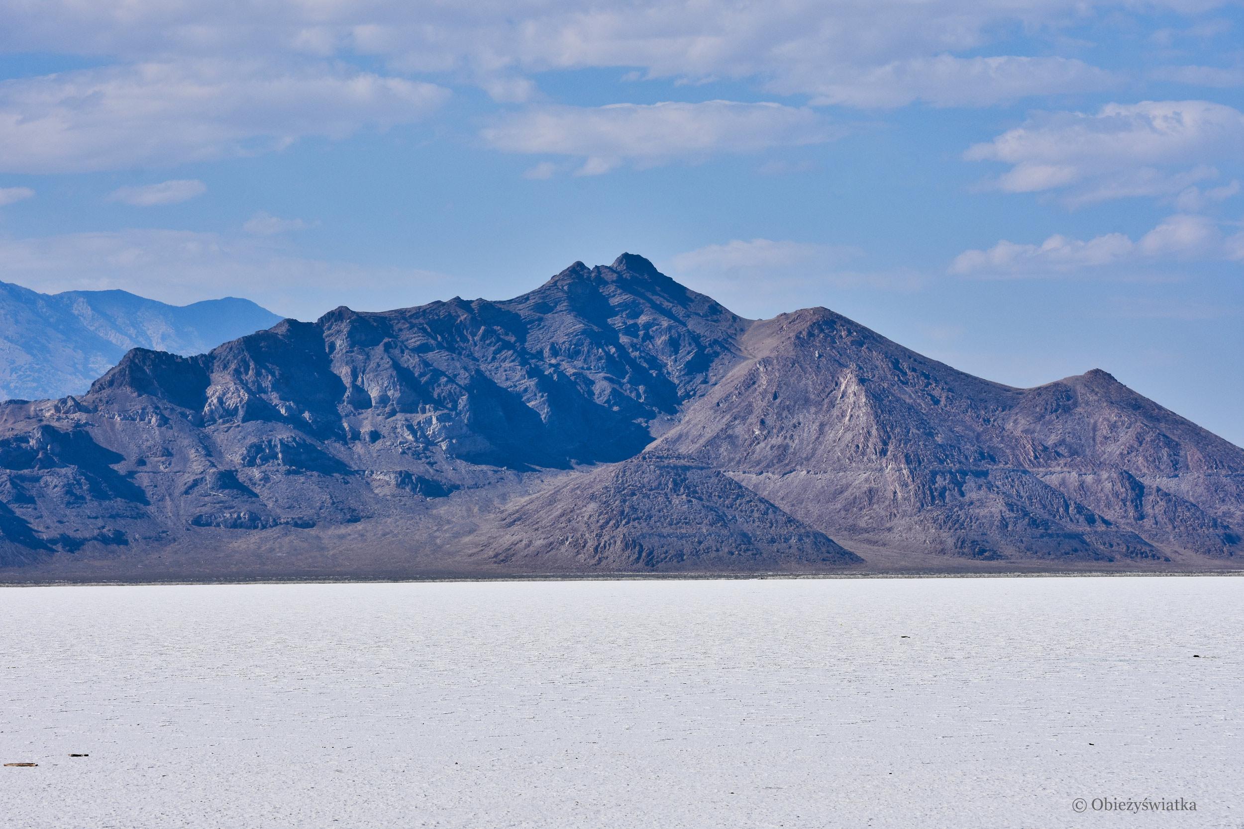 Krajobraz słonej pustyni, Great Salt Lake Desert
