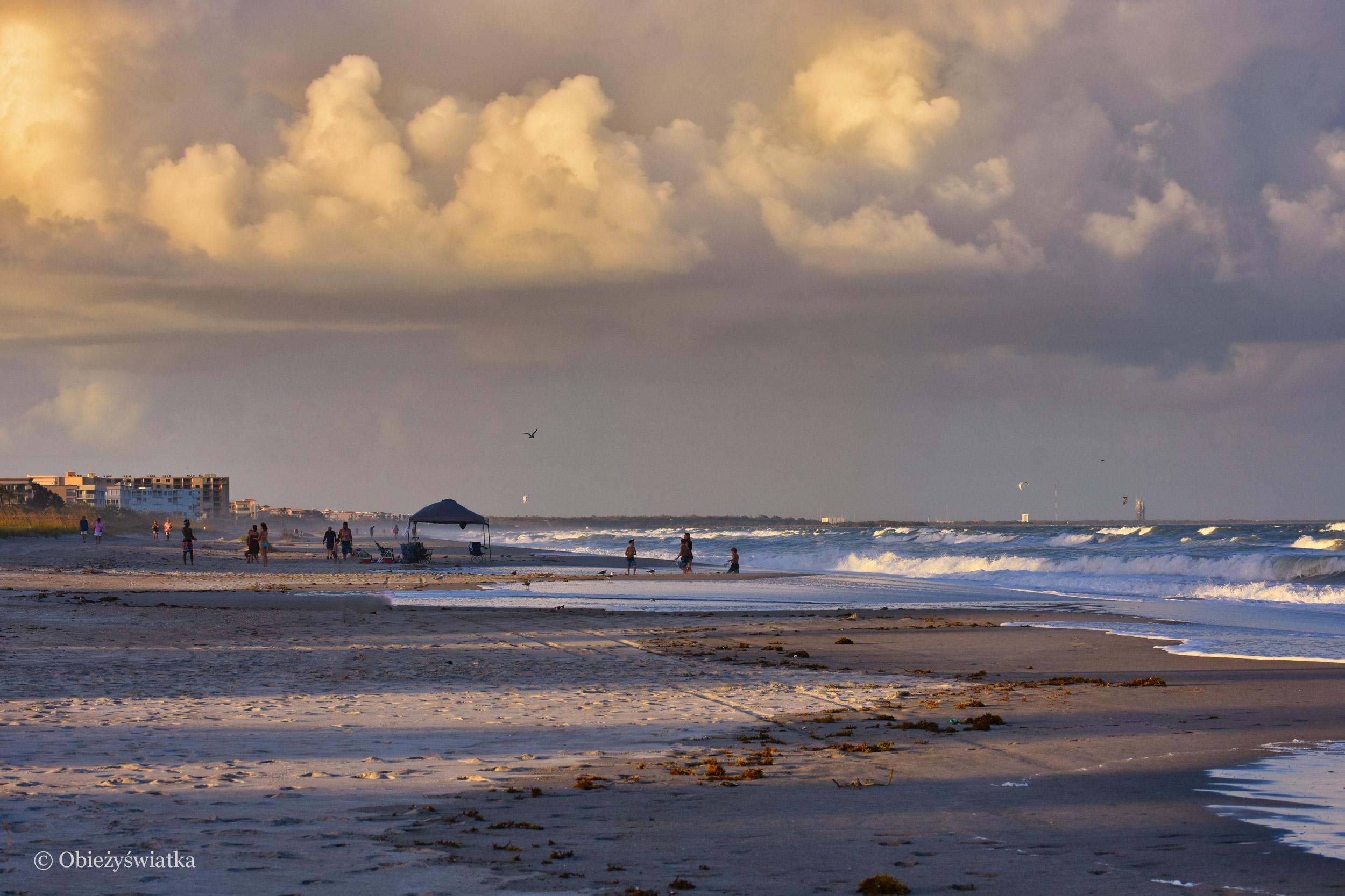 Plaża, Cocoa Beach, Floryda