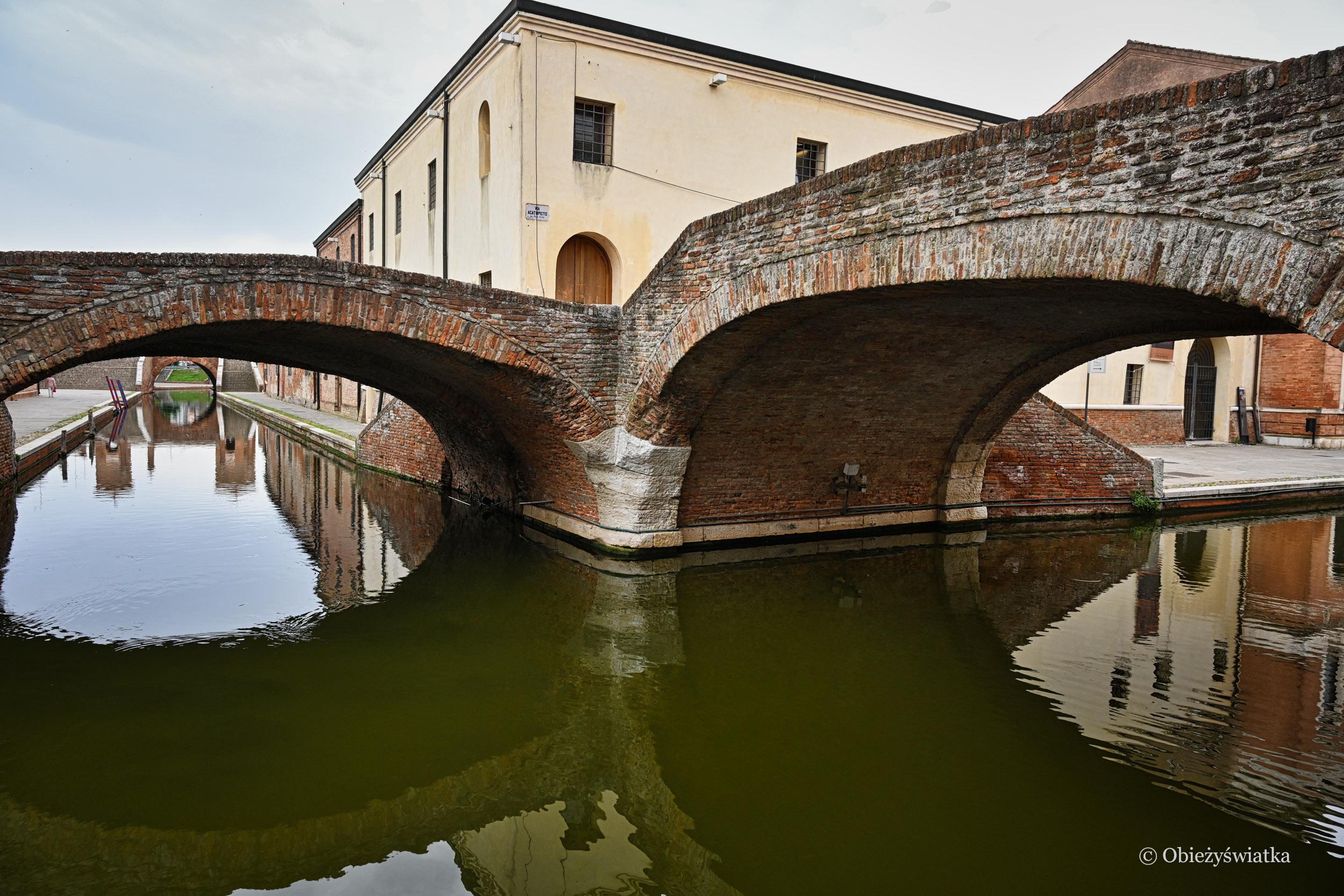 U zbiegu kanałów, Comacchio