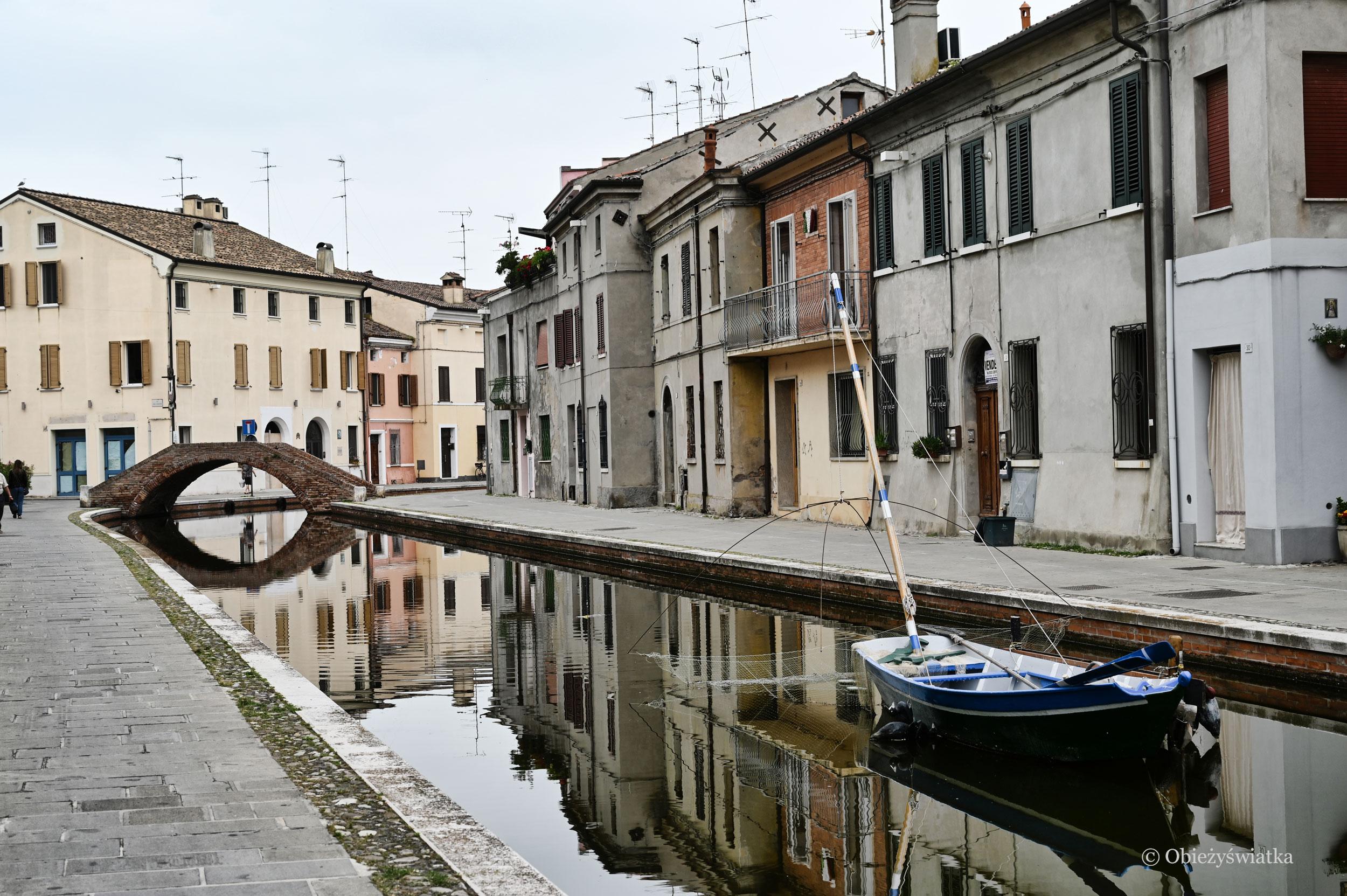 Comacchio: kanały i mosty