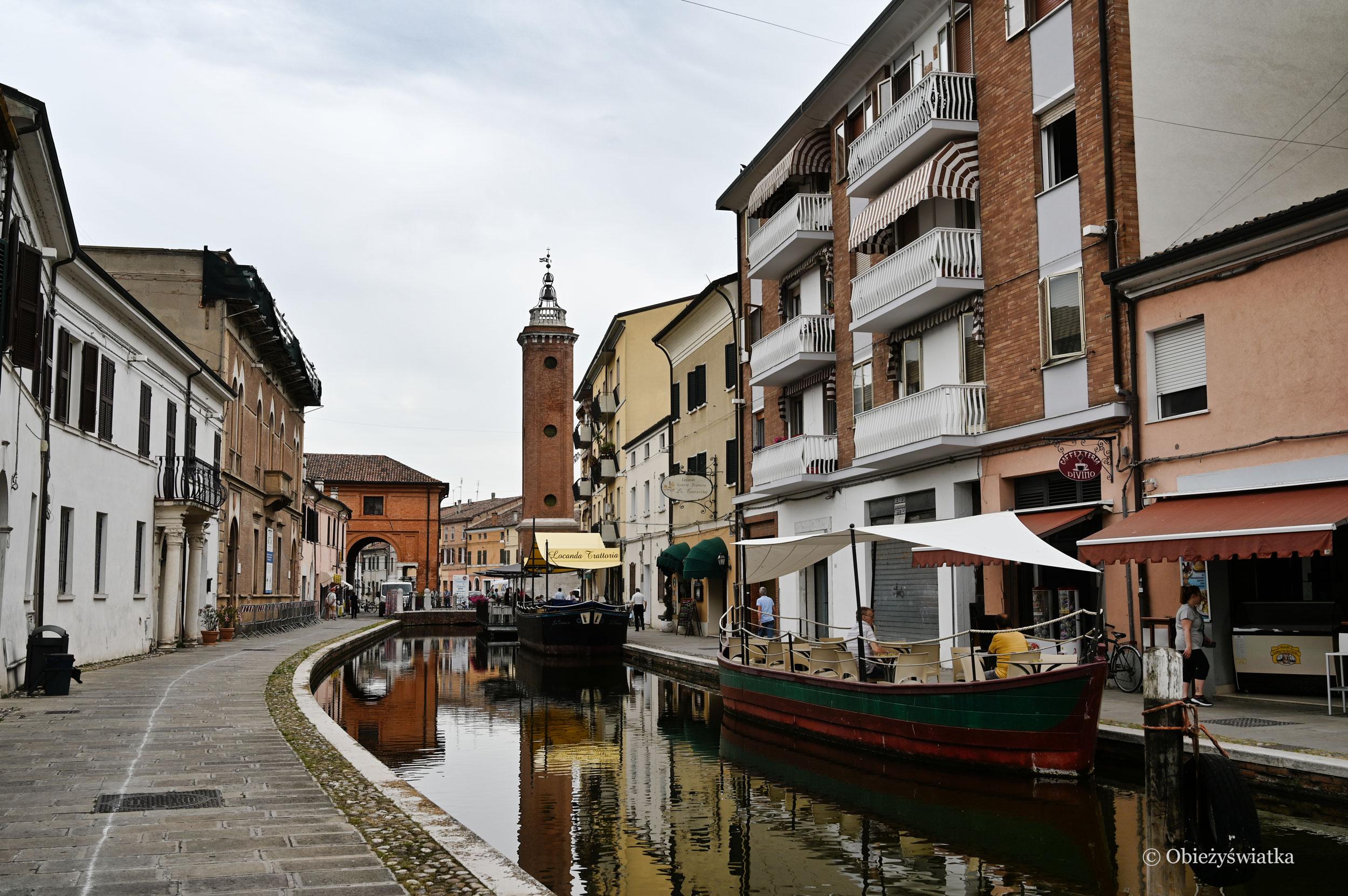 Comacchio, Stare Miasto na wodzie, Włochy