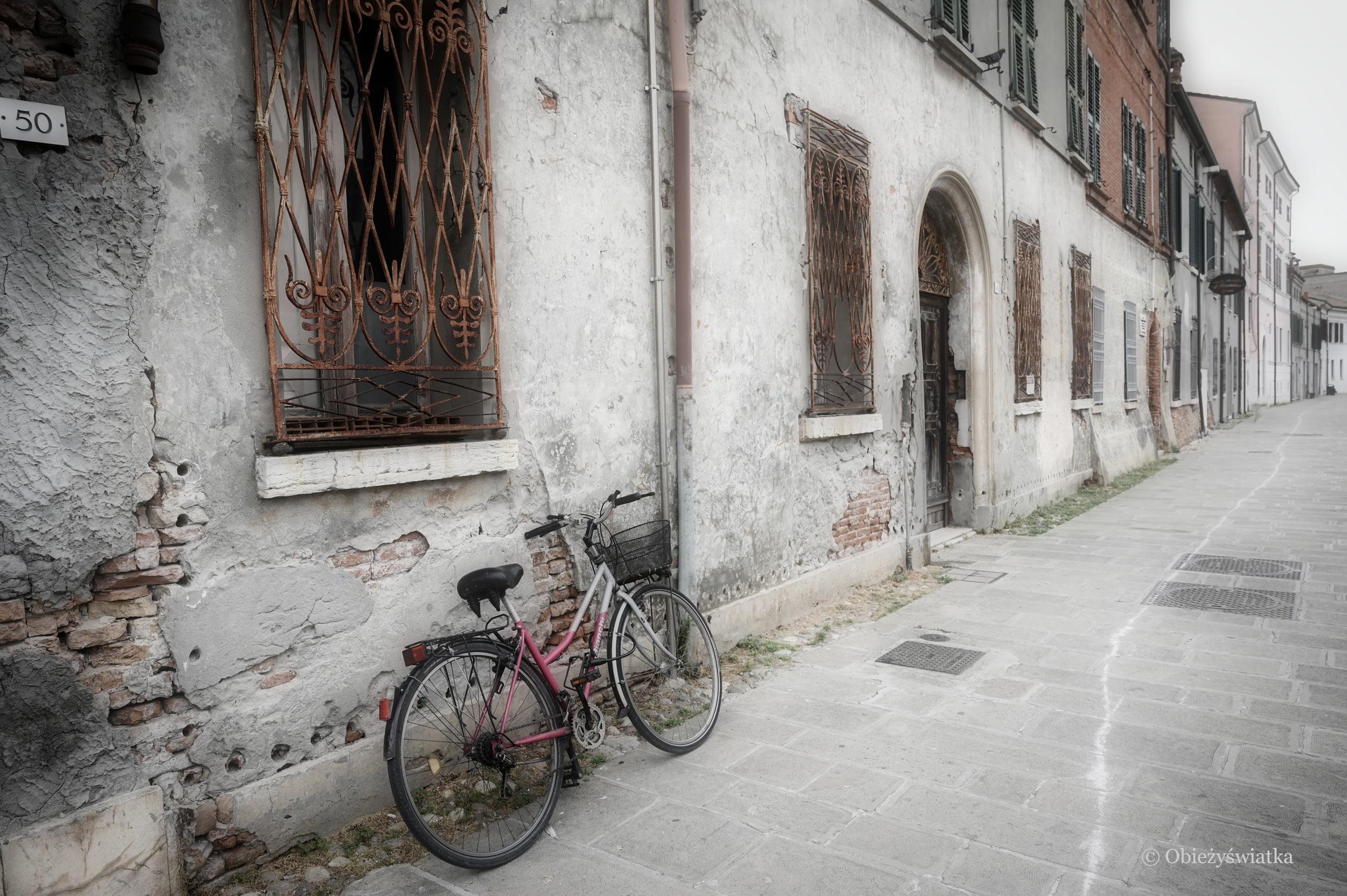 Na uliczkach Comacchio...