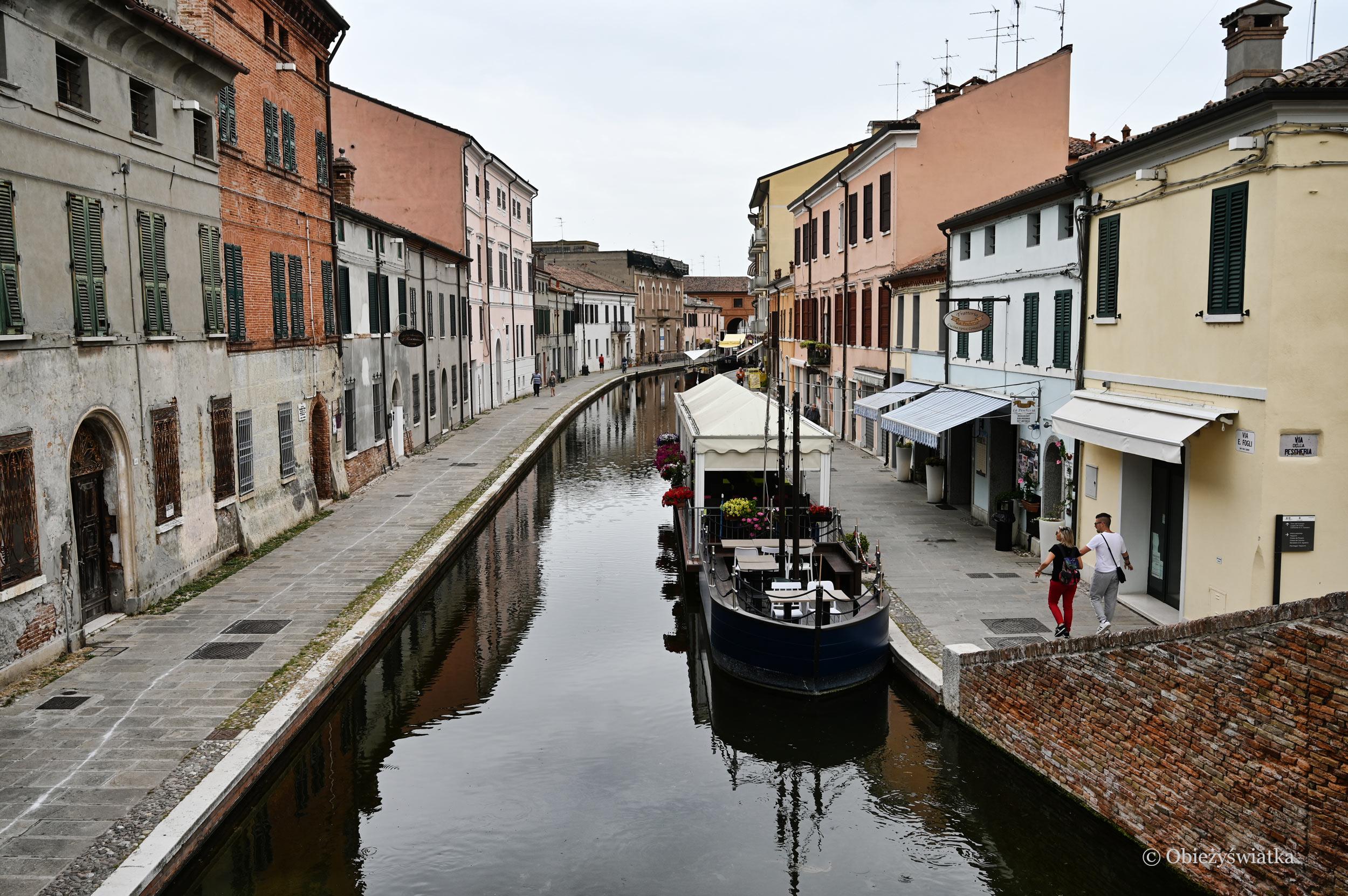 Kanały w Comacchio, Włochy