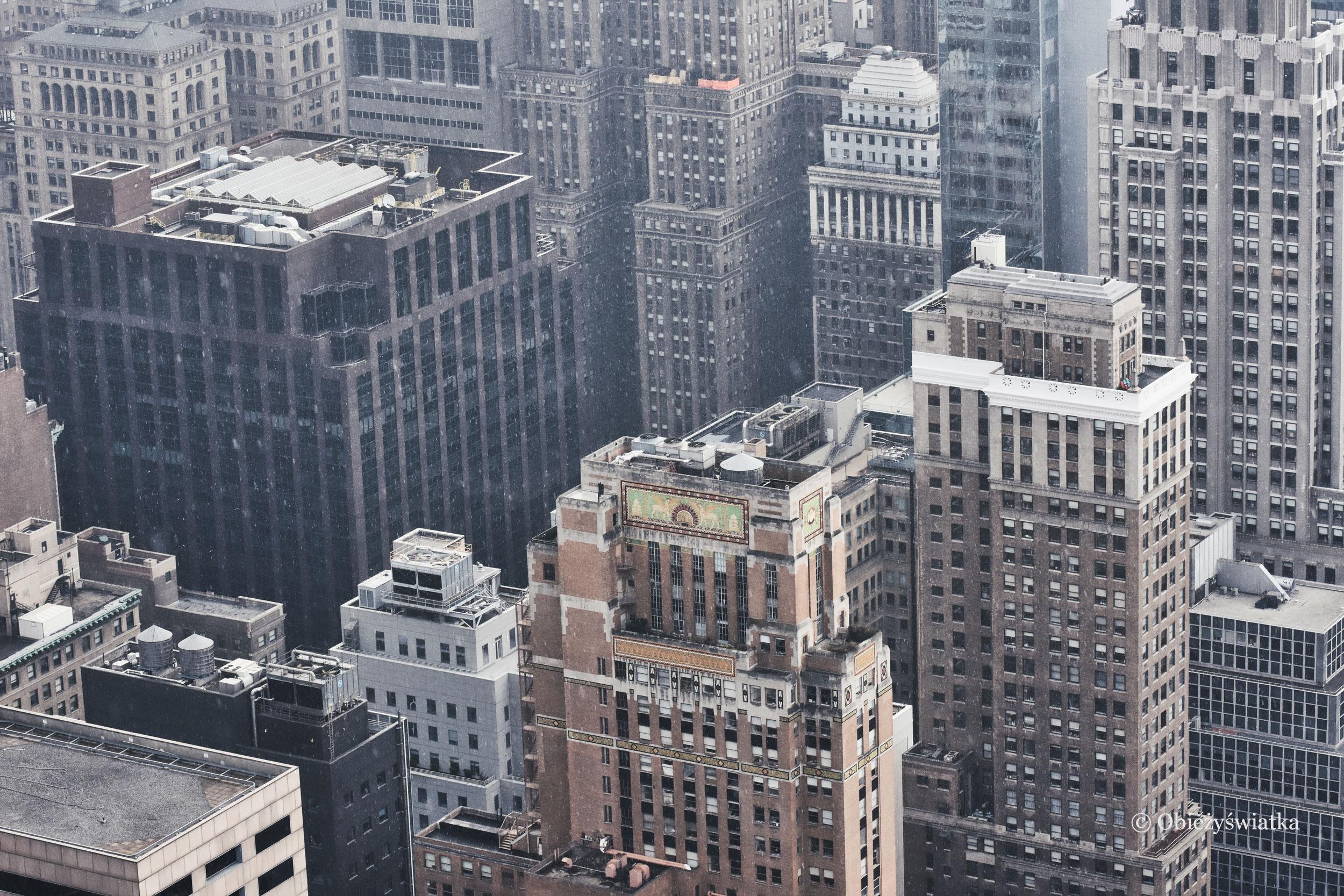 Budynki Nowego Jorku