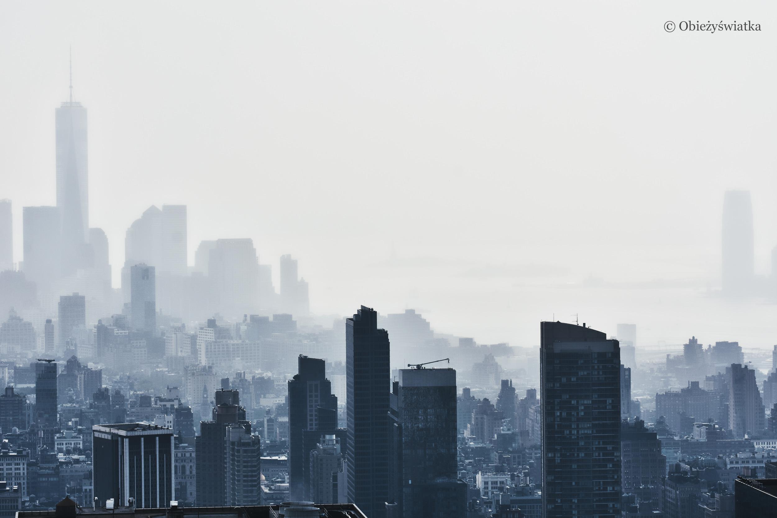 Miasto we mgle - Nowy Jork