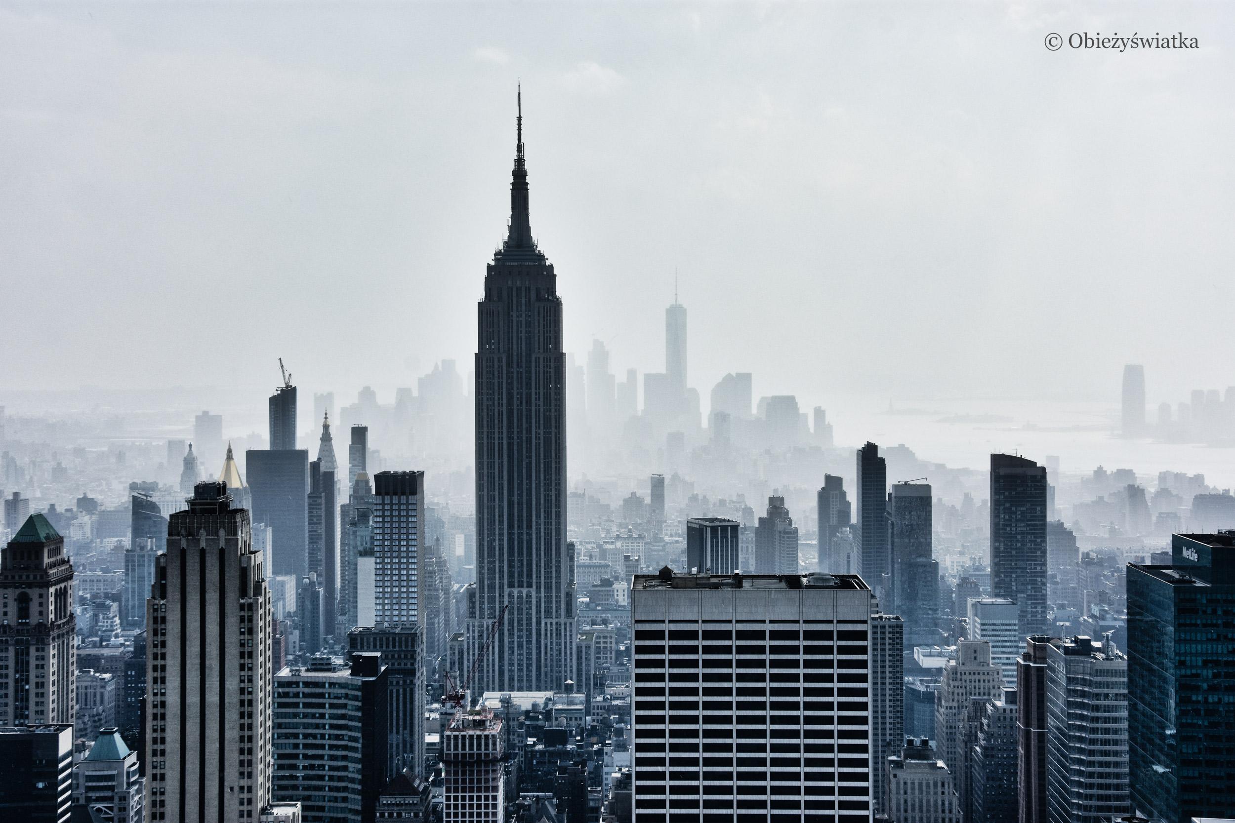 Nowy Jork we mgle