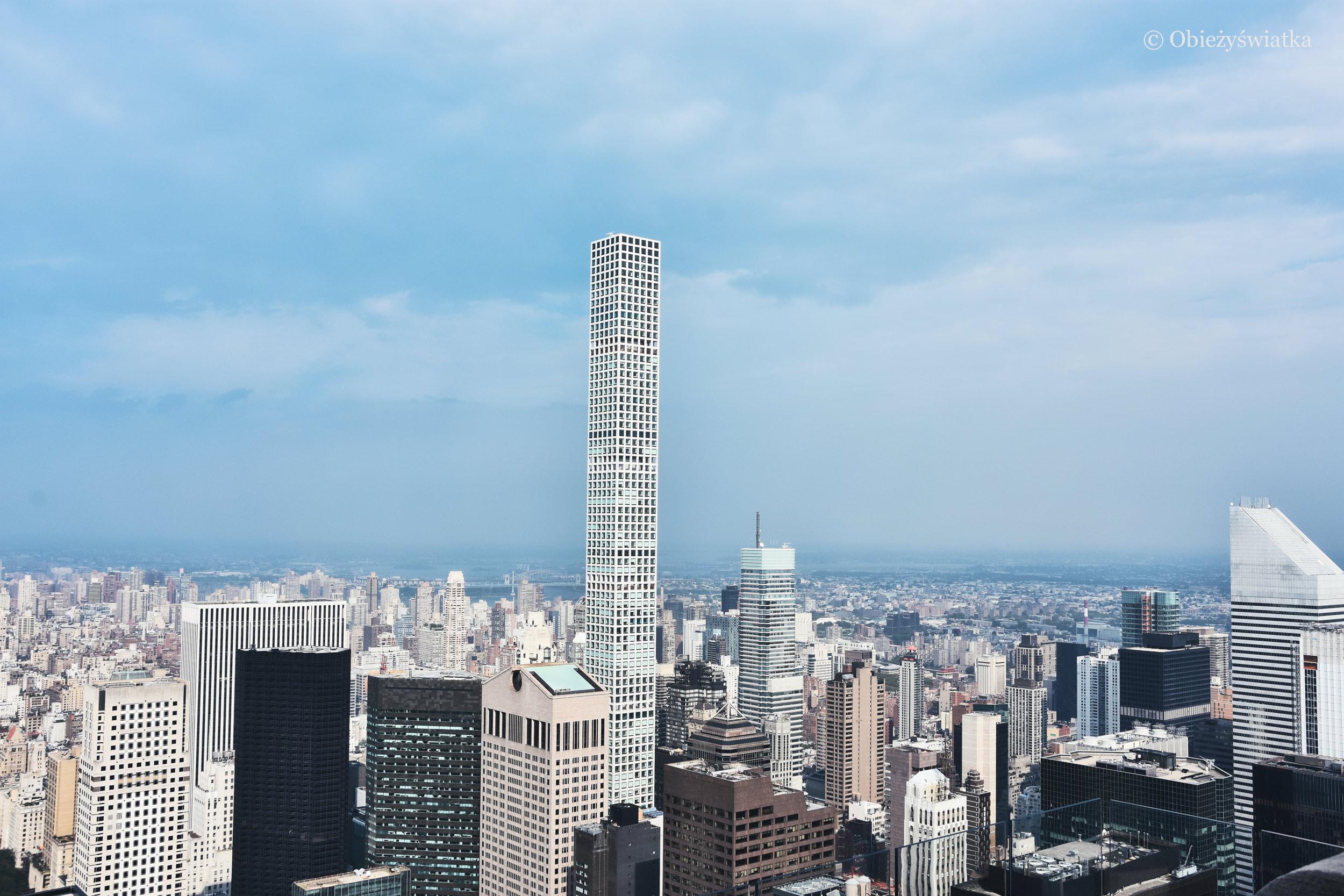 Wieżowiec 432 Park Avenue, drugi pod względem wysokości budynek Nowego Jorku