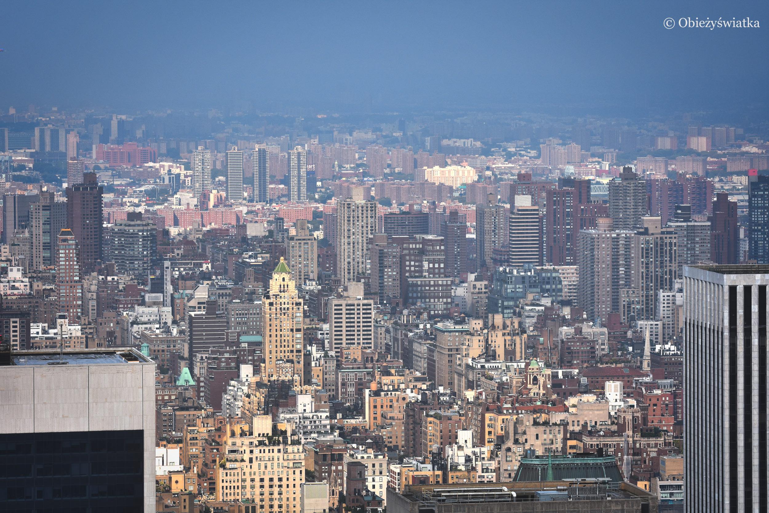 Widok na Upper East Side, Nowy Jork