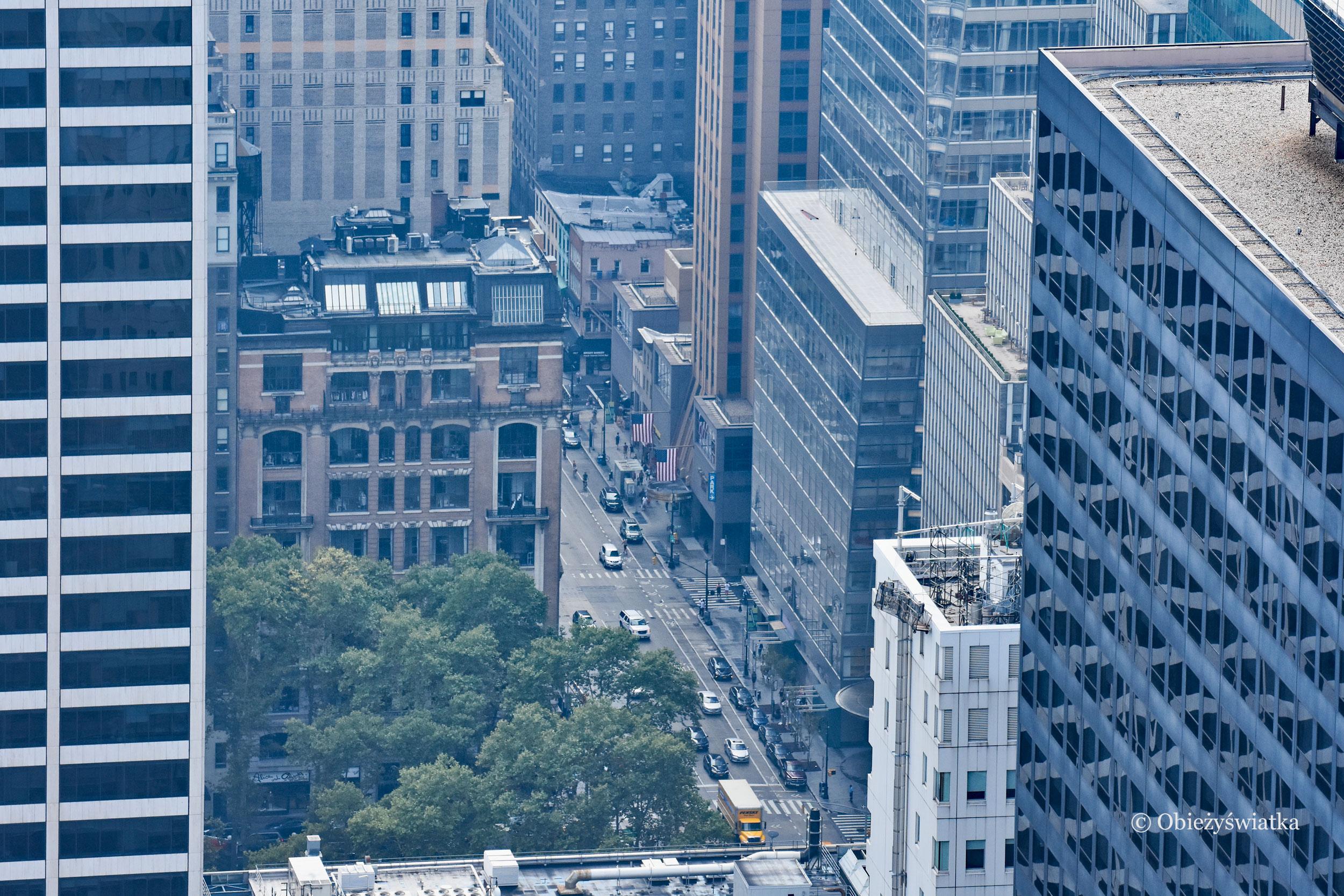Jedna z ulic Nowego Jorku