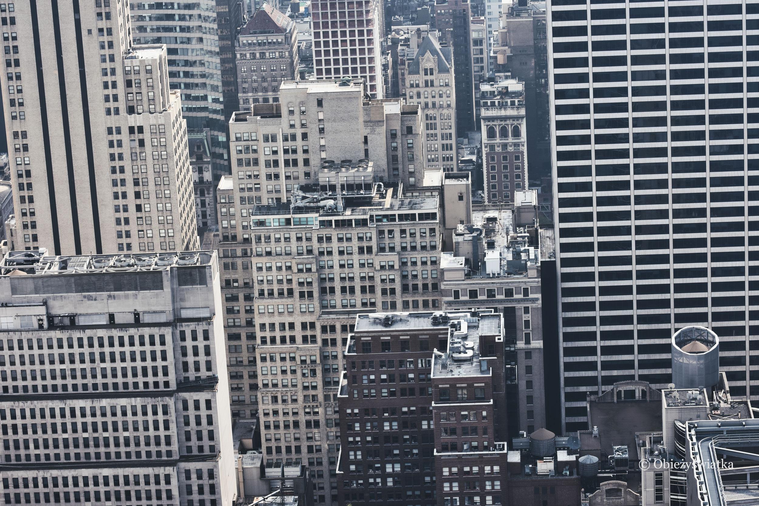 Wieżowce w NY