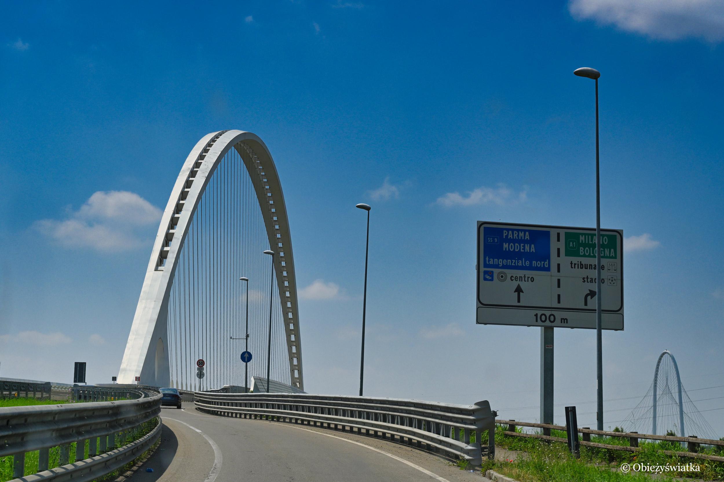 Mosty projektu Calatravy, Włochy