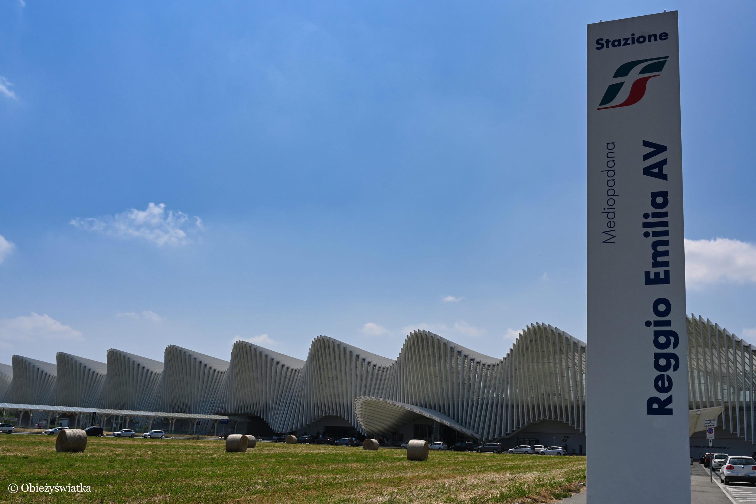 Dworzec kolejowy - Mediopadana