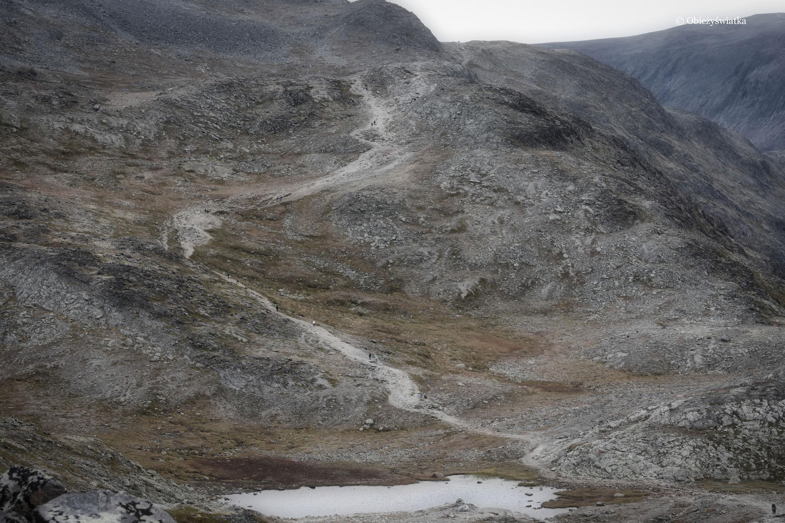 Szlak na Besseggen, Norwegia