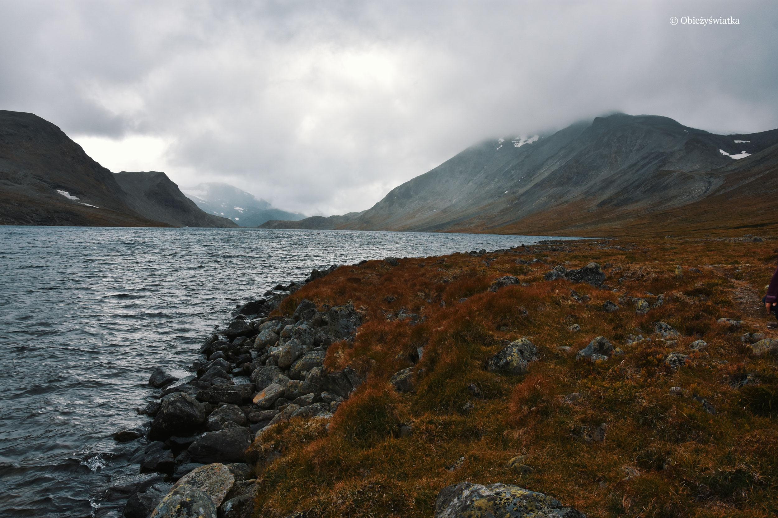 W Norwegii, na alternatywnym szlaku wokół grani Bessegen