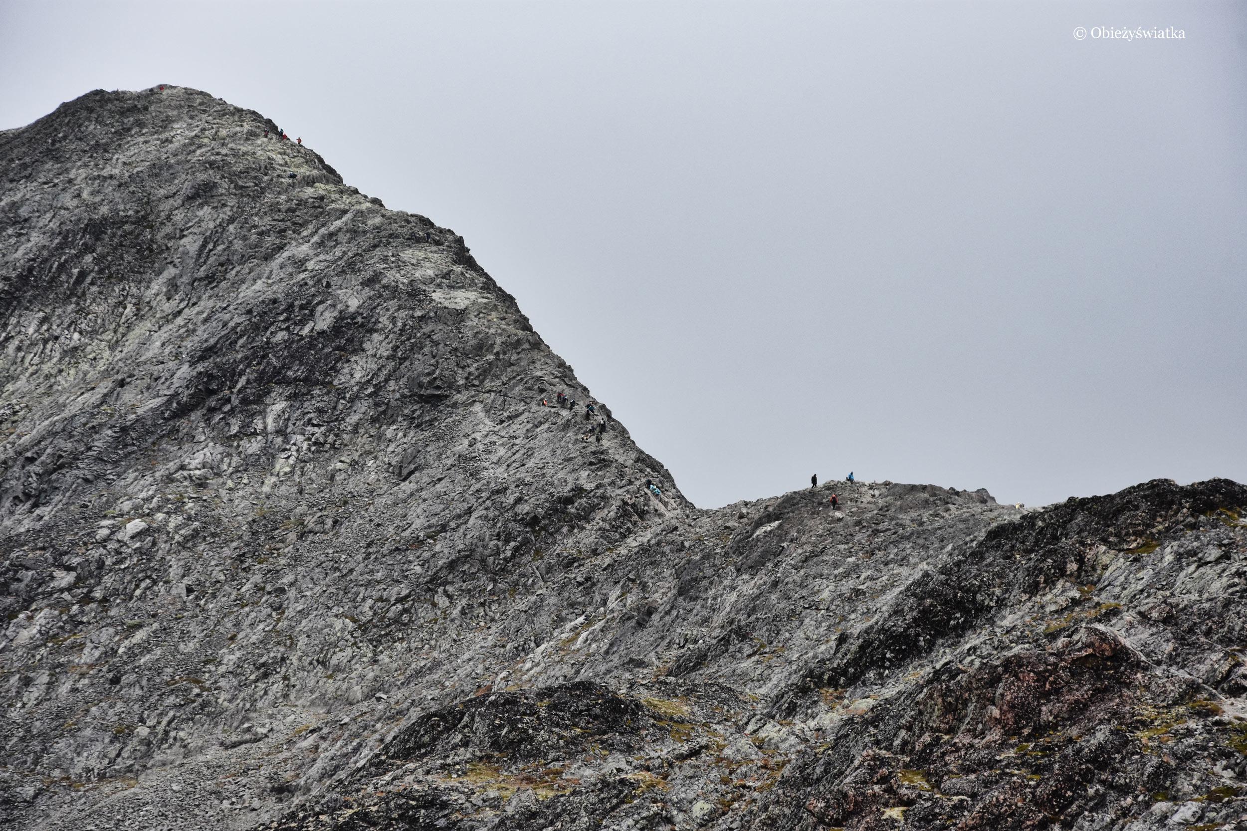 Grań Besseggen, Norwegia