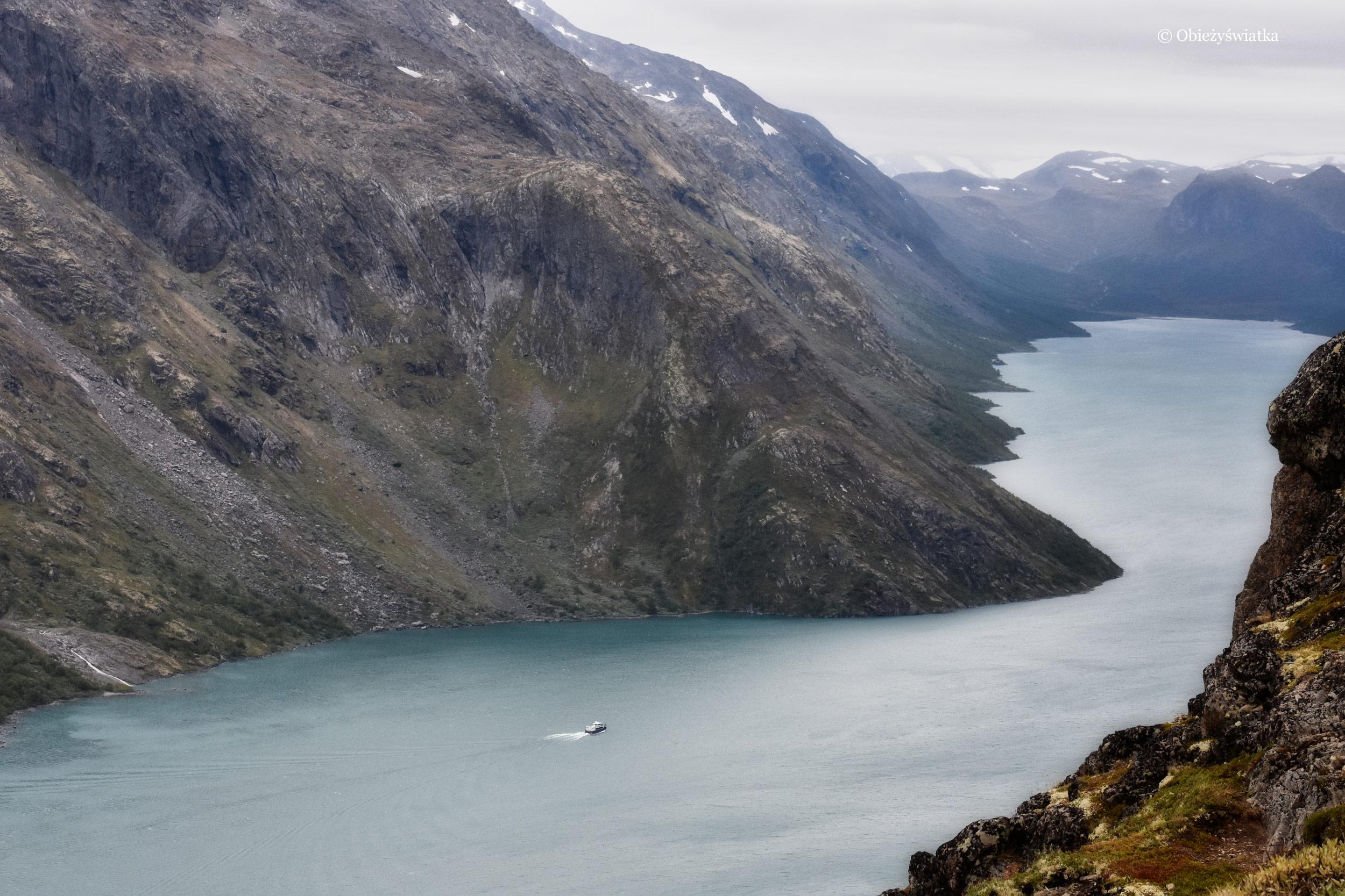 Jezioro Gjende, Norwegia
