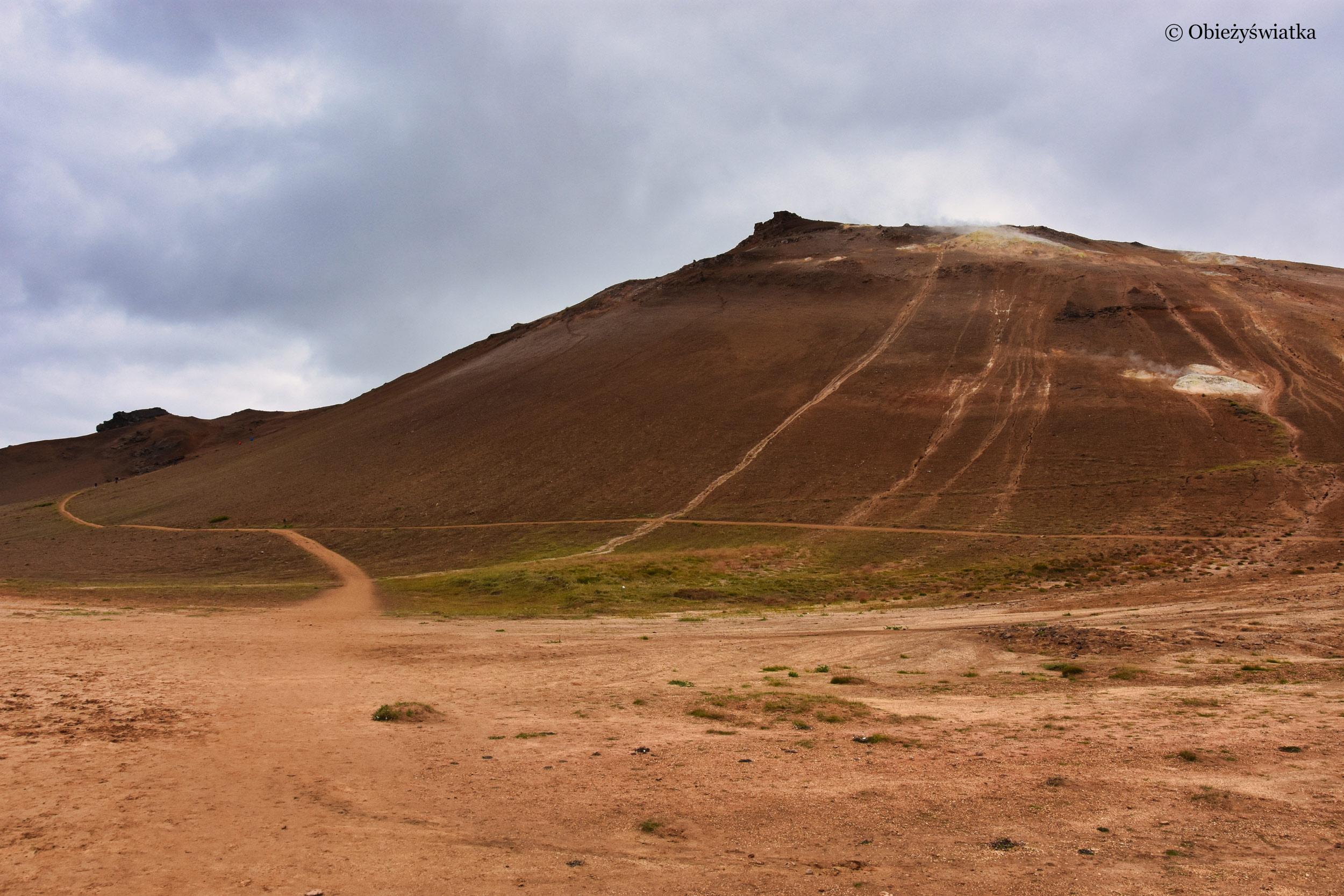Wzgórze Námafjall, Islandia