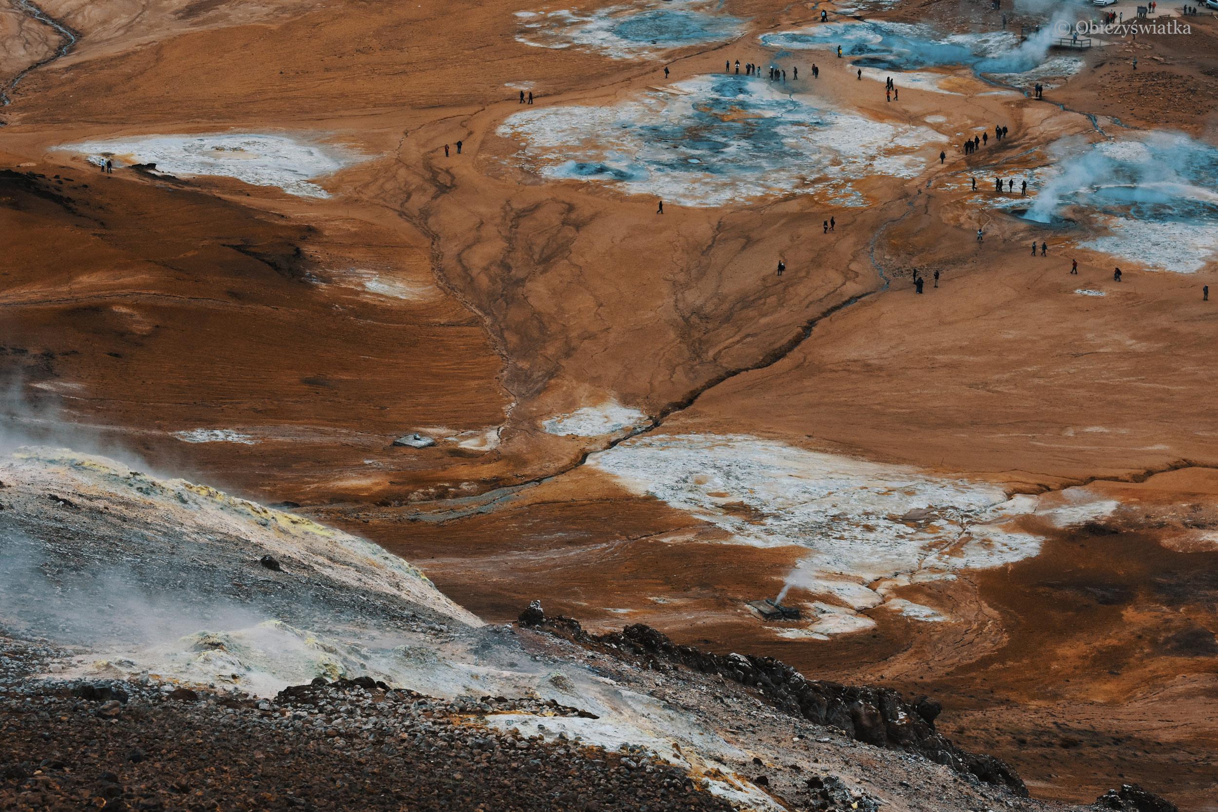 Islandia i jej pola lawy