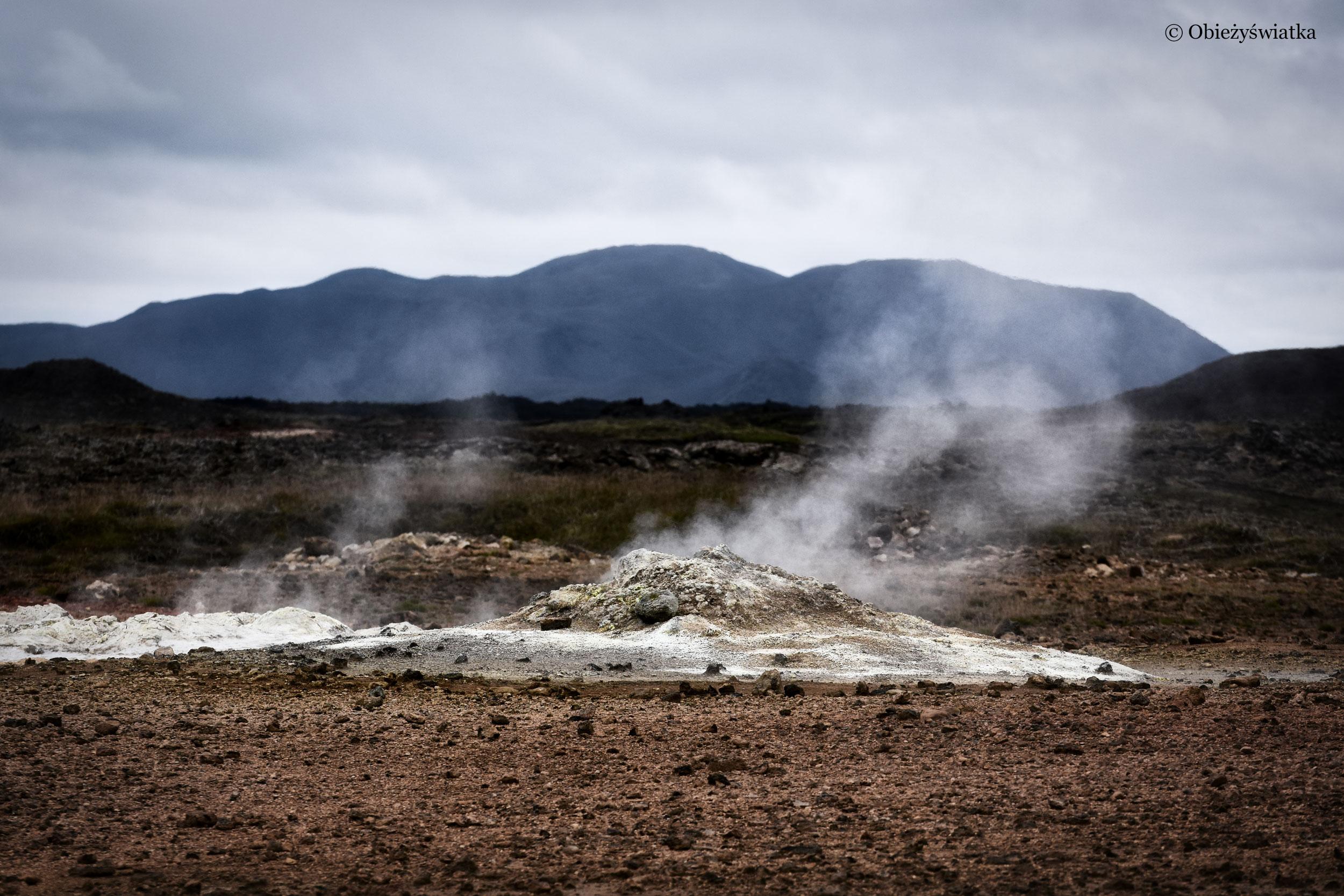 Islandia i fumarole