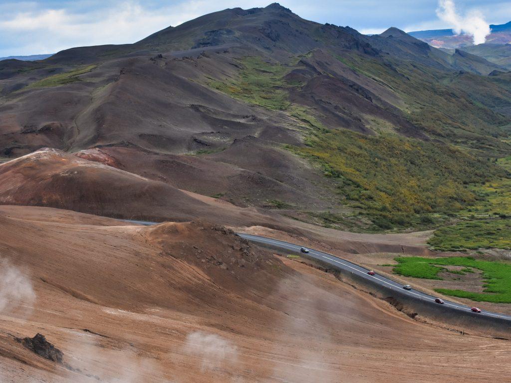 Pola lawy, Islandia
