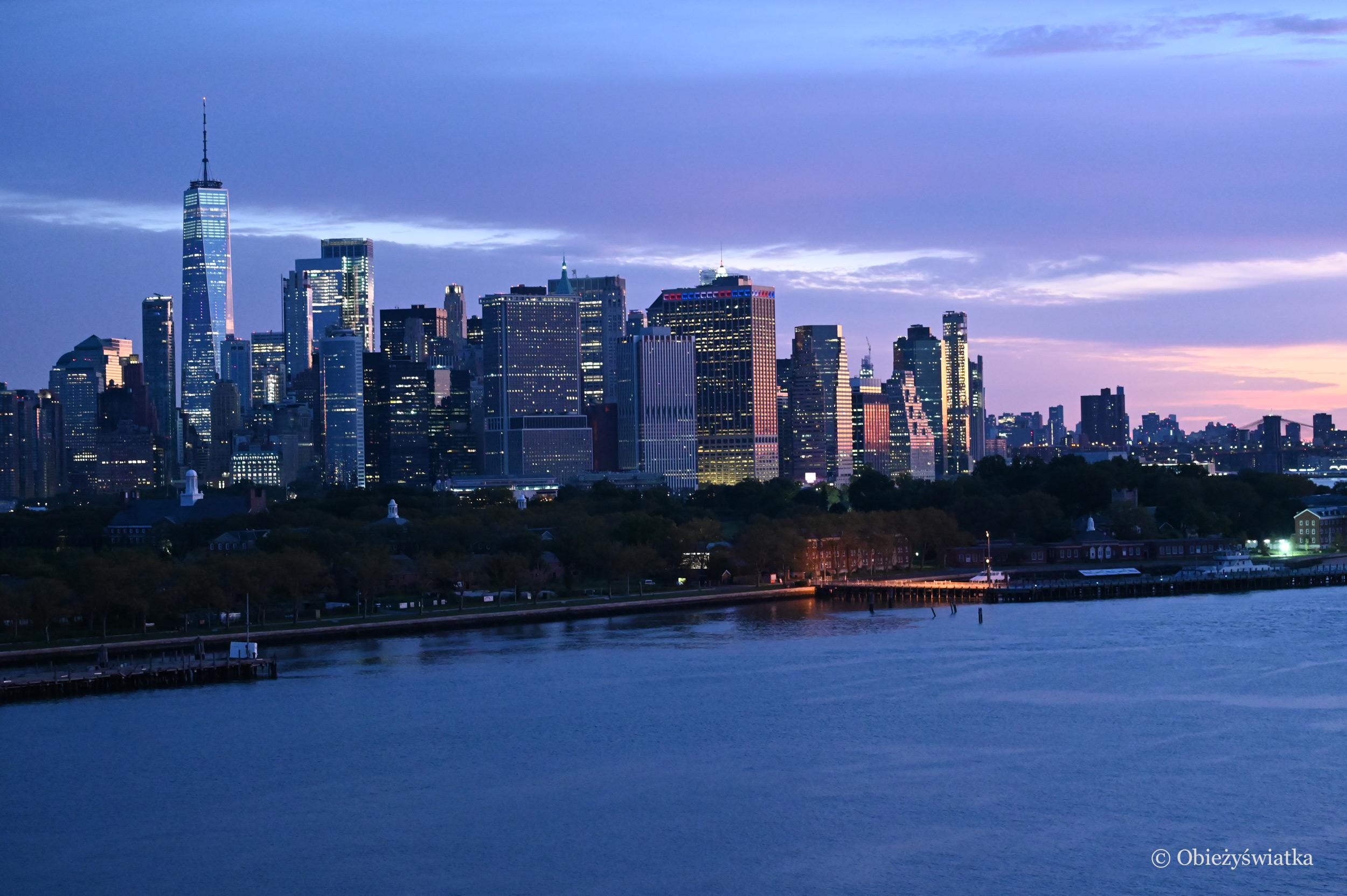 Nowy Jork wczesnym rankiem