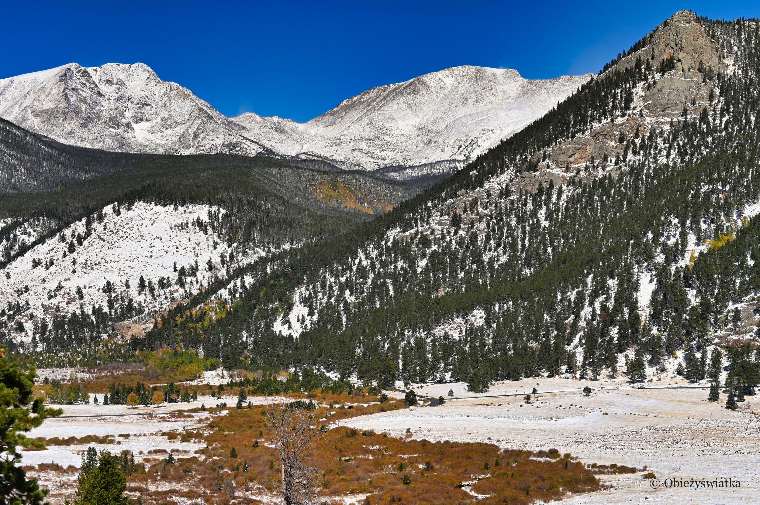 Zima w Górach Skalistych/Rocky Mountains, Colorado